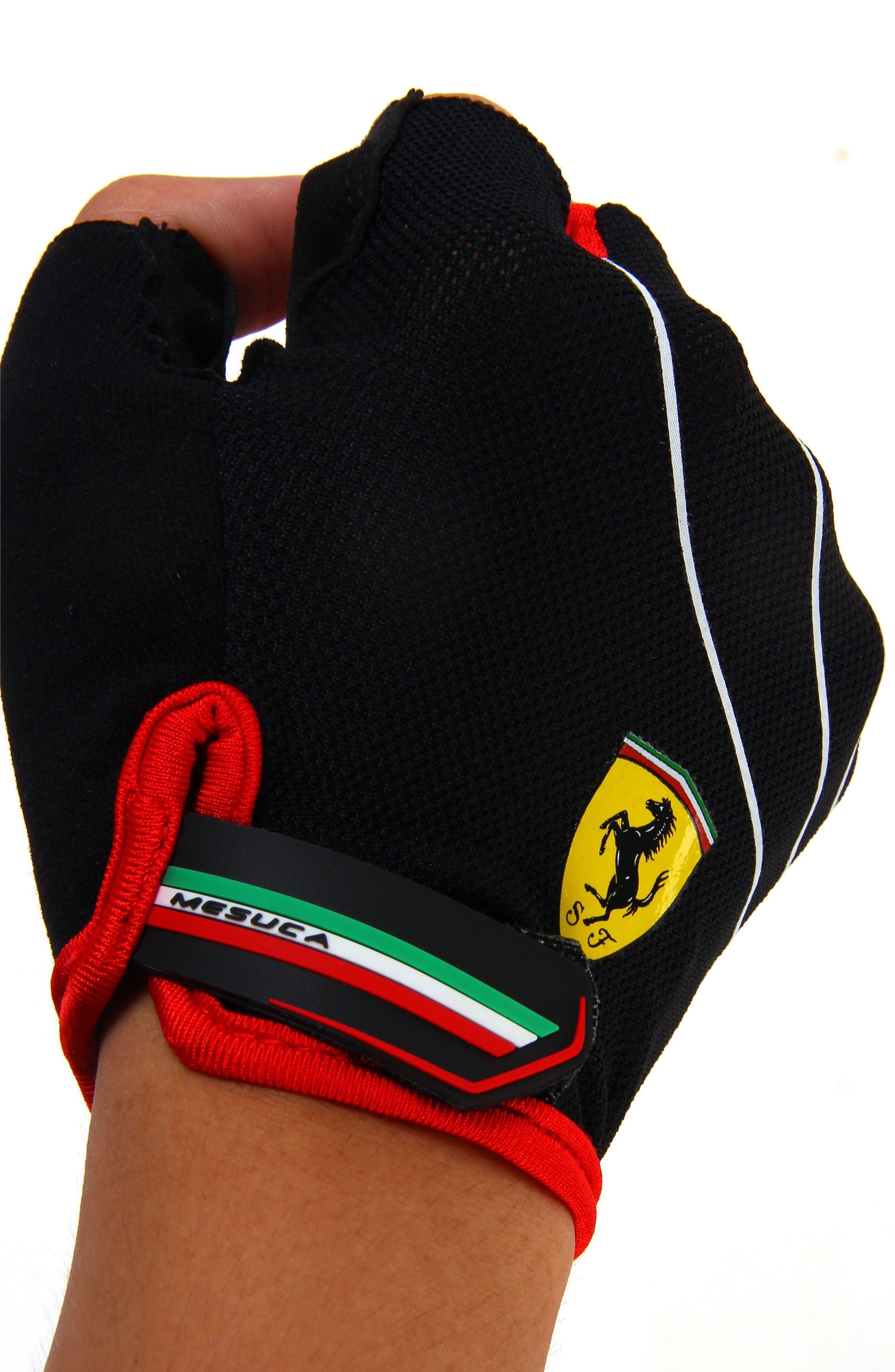 Alternate Image 2  - Ferrari Sport Fingerless Gloves