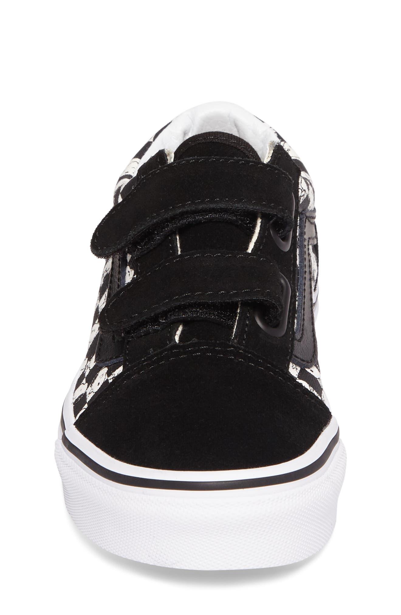 Alternate Image 4  - Vans x Peanuts Old Skool V Low Top Sneaker (Baby, Walker, Toddler, Little Kid & Big Kid)