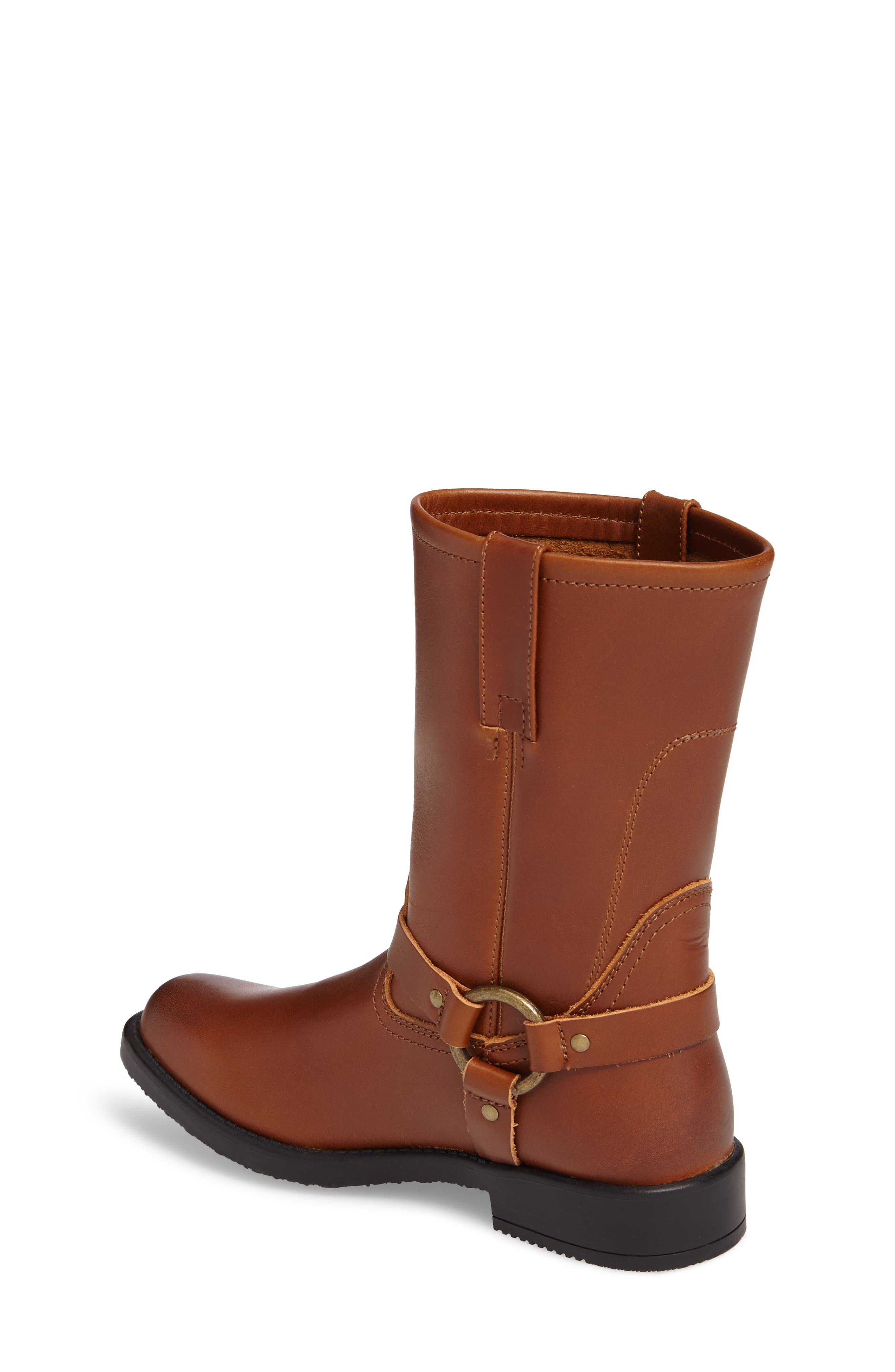 Harness Engineer Boot,                             Alternate thumbnail 2, color,                             Cognac