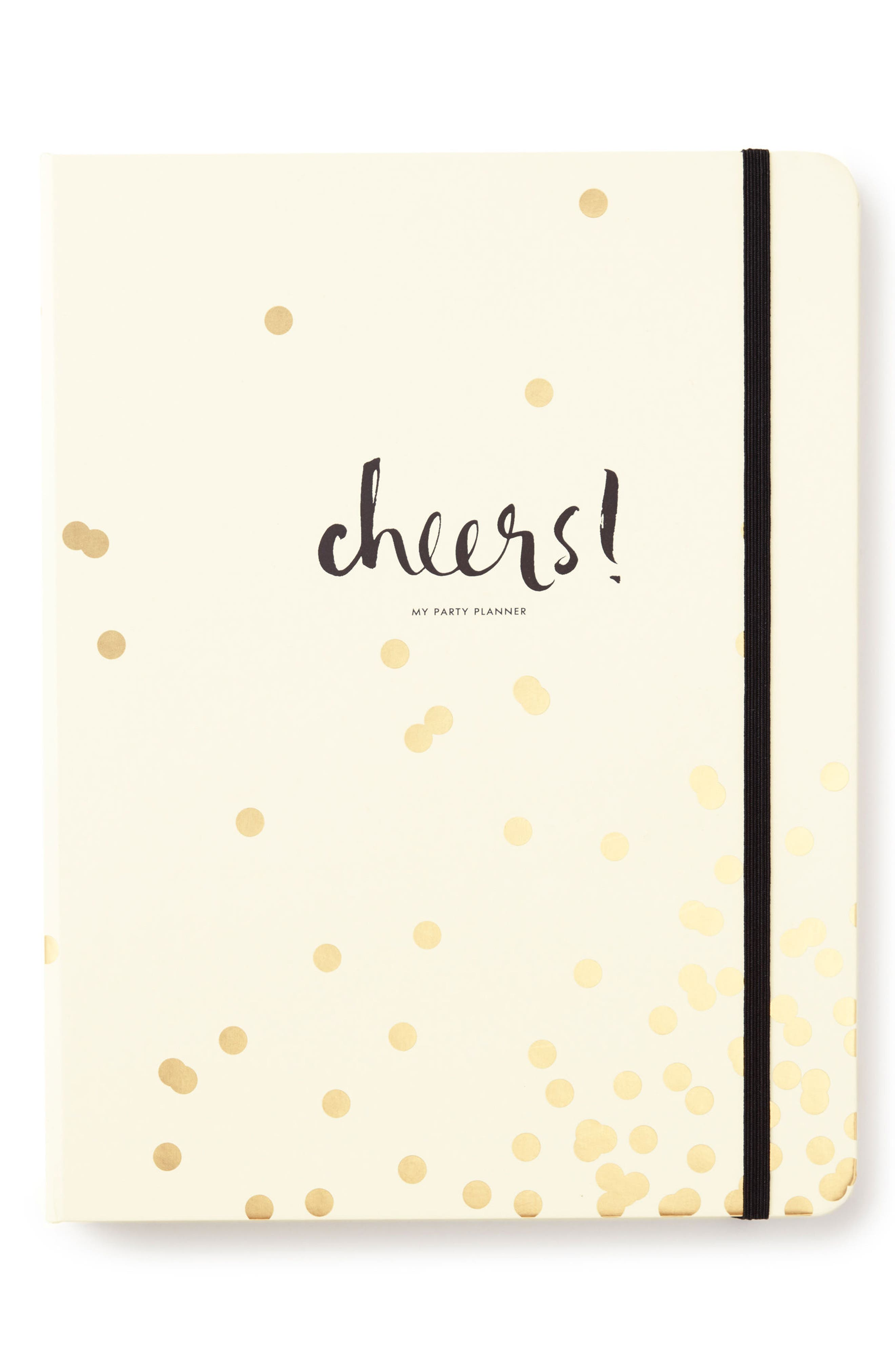 party planning book,                         Main,                         color, Gold