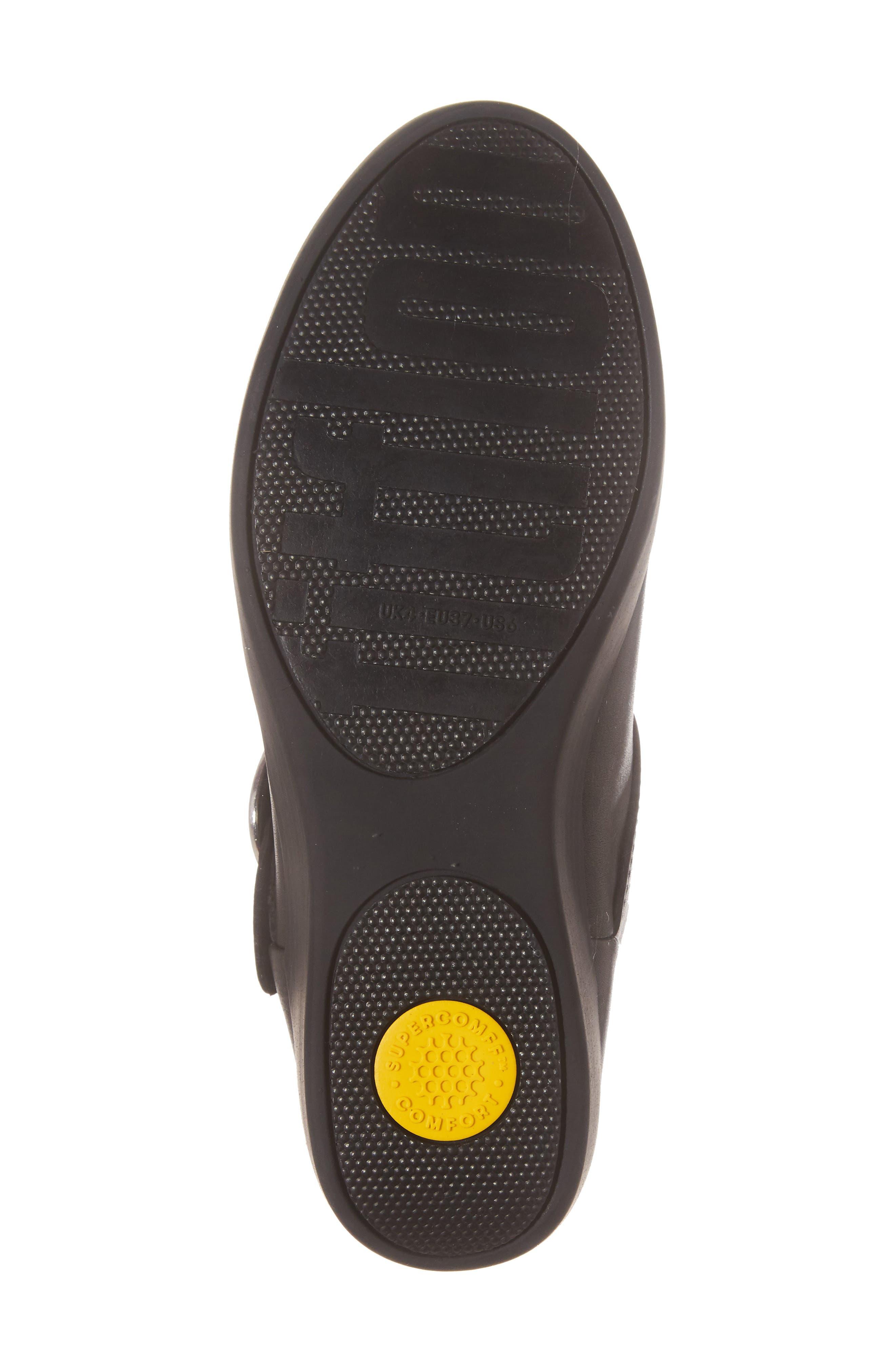 Superbuckle Chelsea Boot,                             Alternate thumbnail 6, color,                             Black
