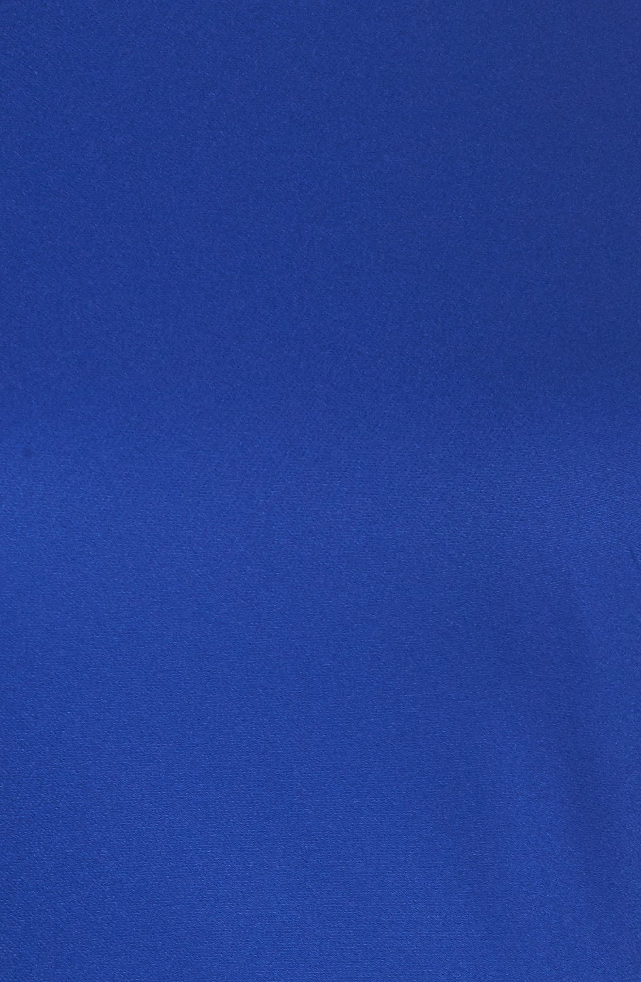 Barbara Fit & Flare Dress,                             Alternate thumbnail 5, color,                             Cobalt