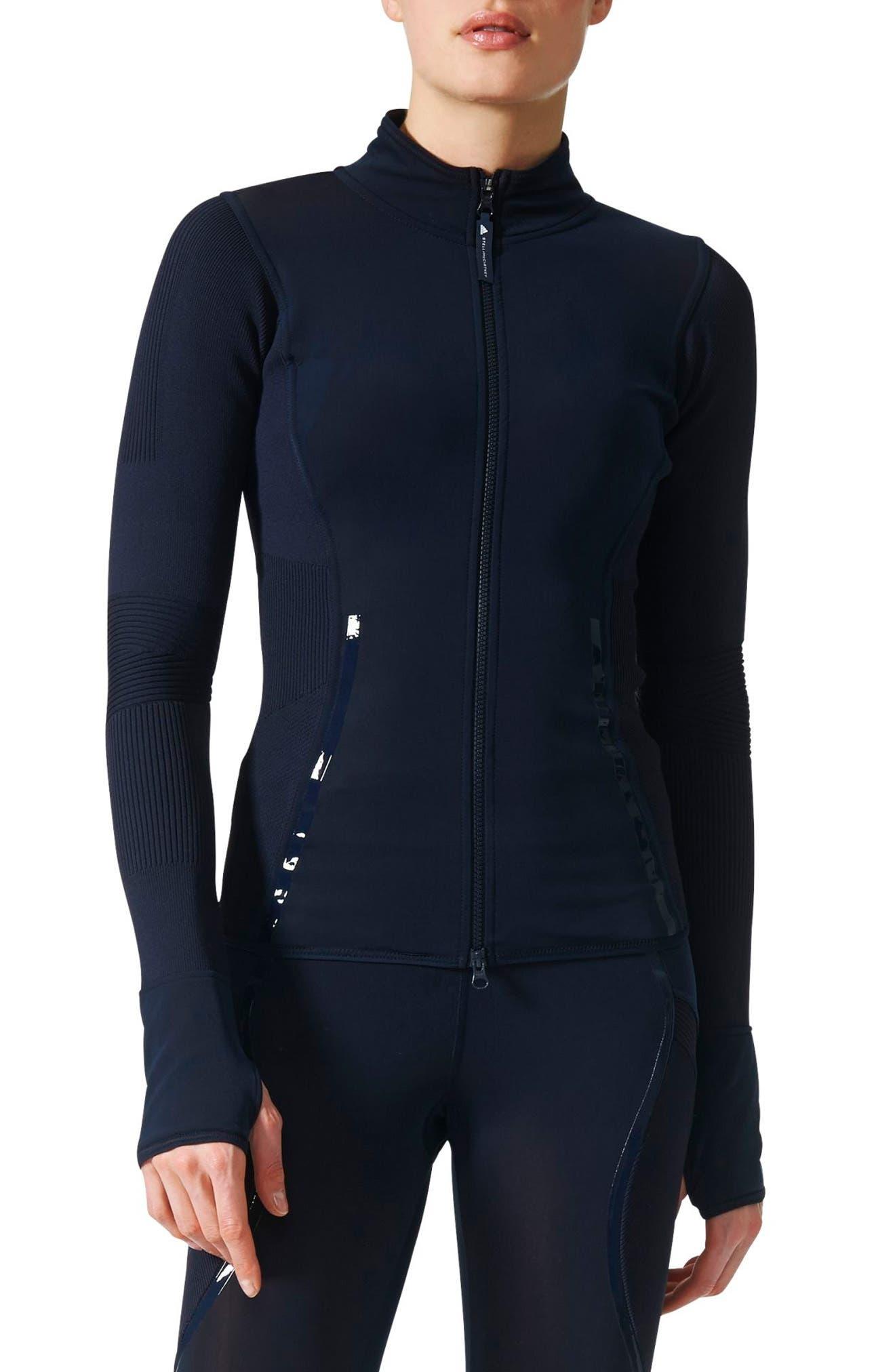 adidas by Stella McCartney Run Knit Mix Mid Layer Jacket