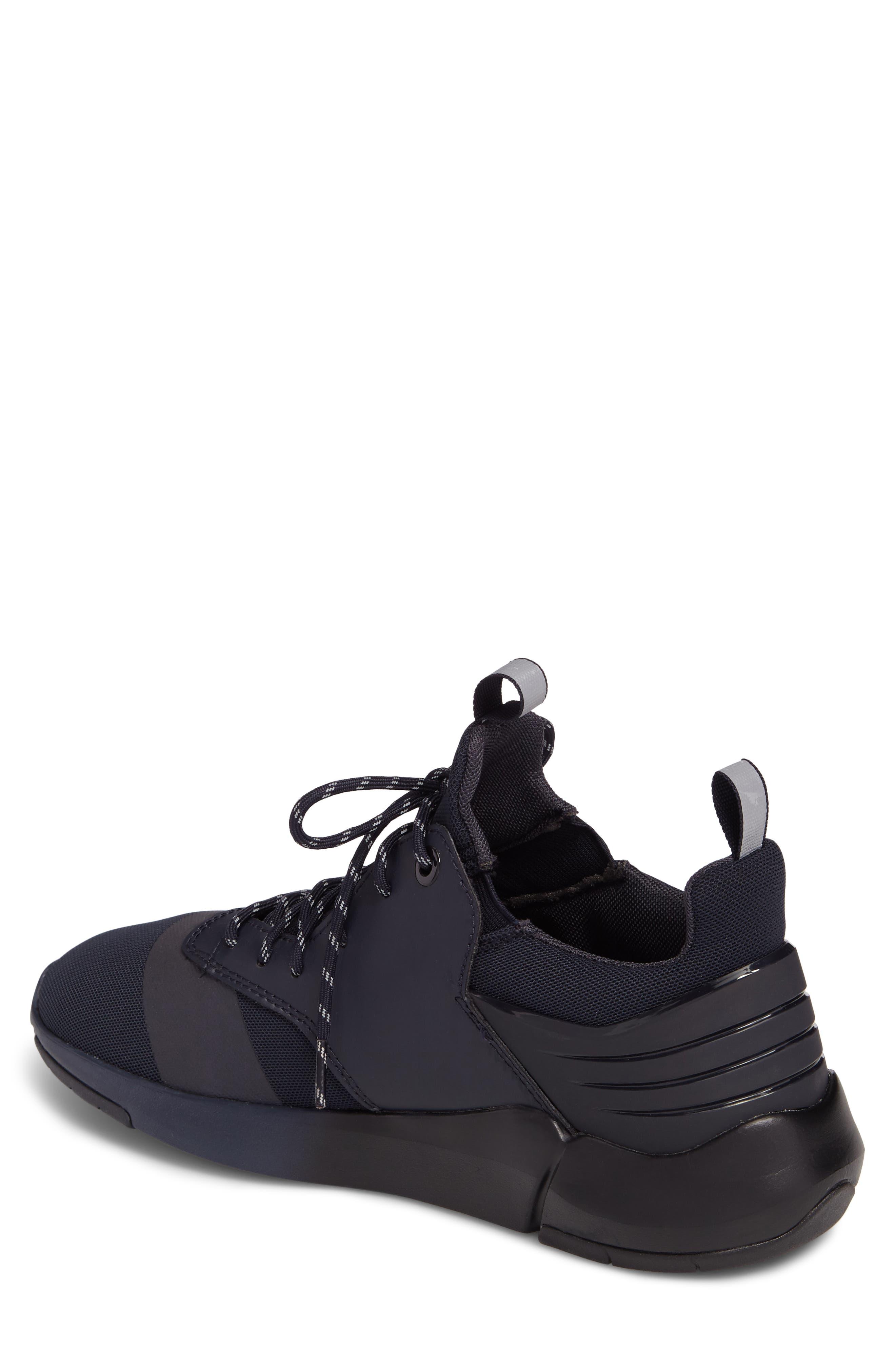 Motus Sneaker,                             Alternate thumbnail 2, color,                             Navy Reflective Leather