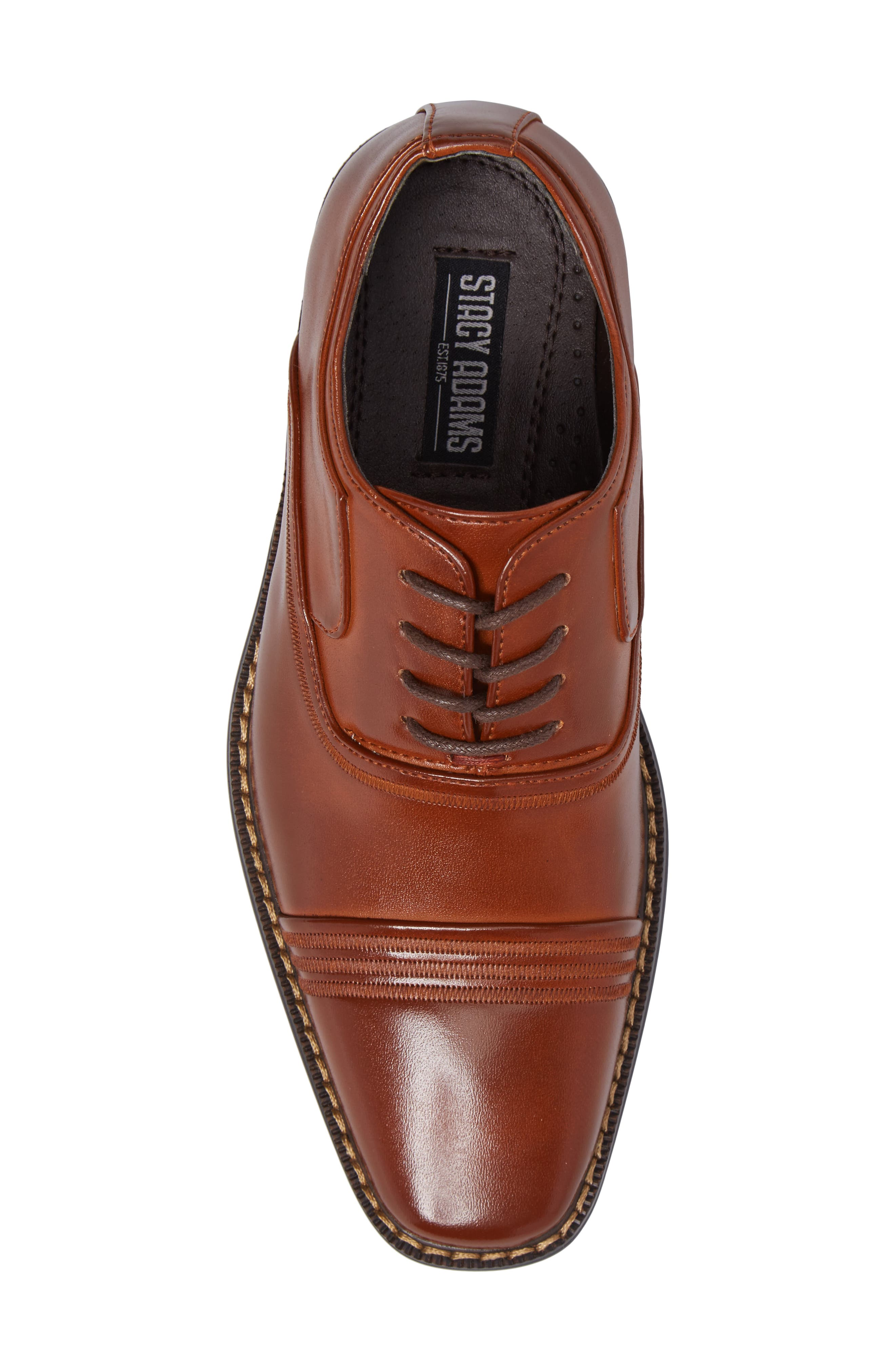 Alternate Image 5  - Stacy Adams Bingham Cap Toe Oxford (Toddler, Little Kid & Big Kid)