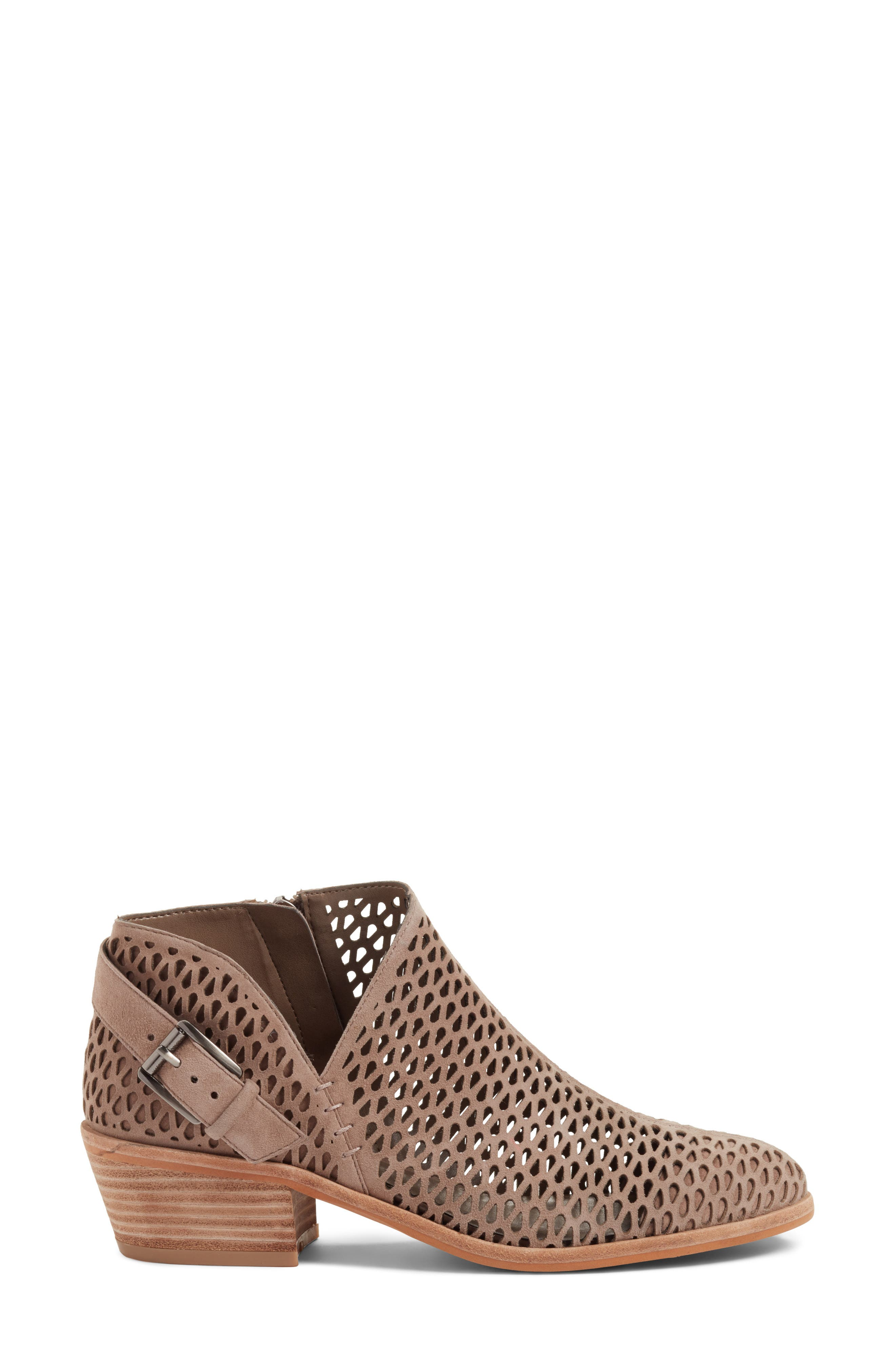 Phandra Bootie,                             Alternate thumbnail 3, color,                             Urban Lux Suede