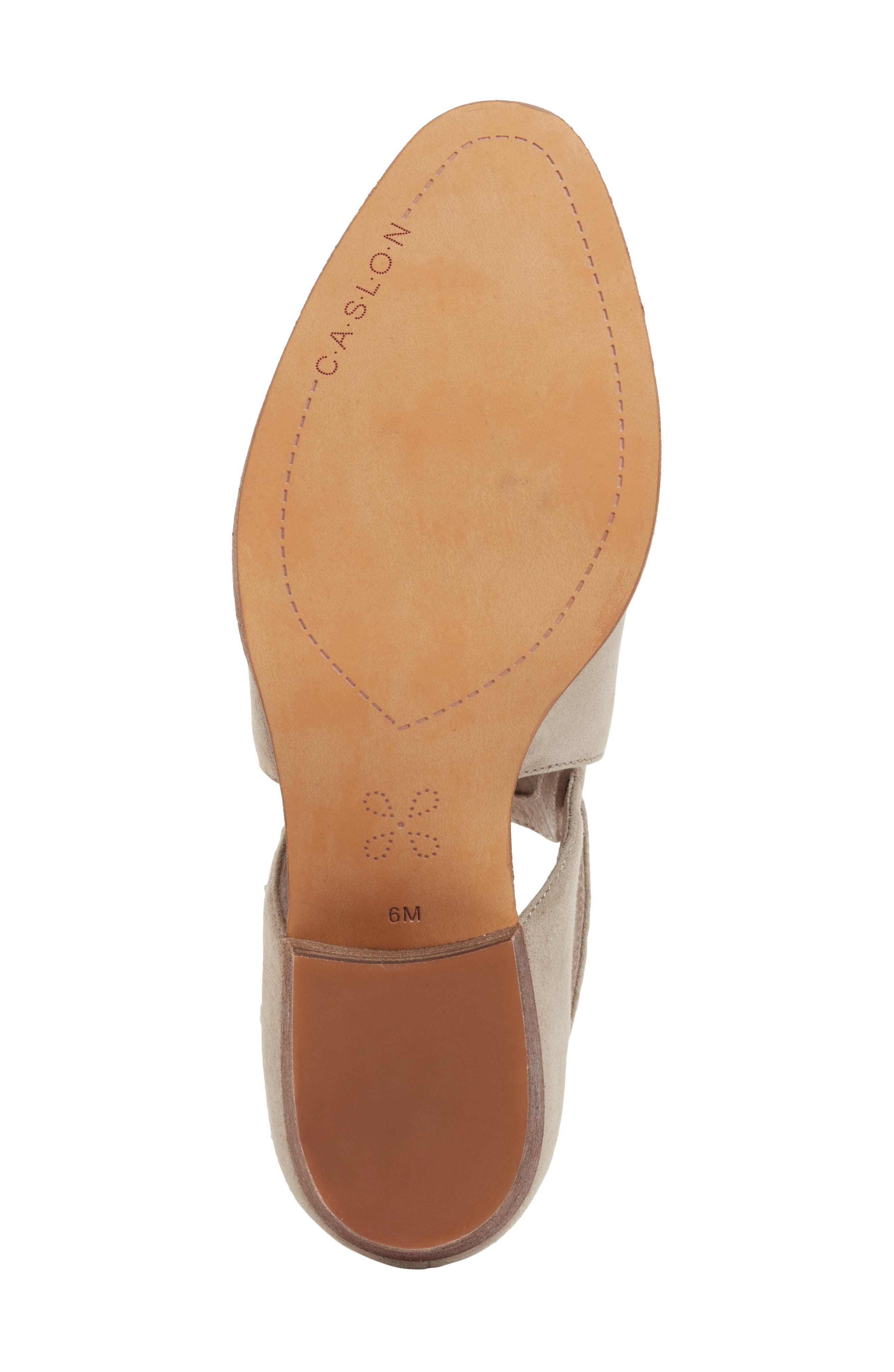 Tina Bootie,                             Alternate thumbnail 6, color,                             Stone Suede