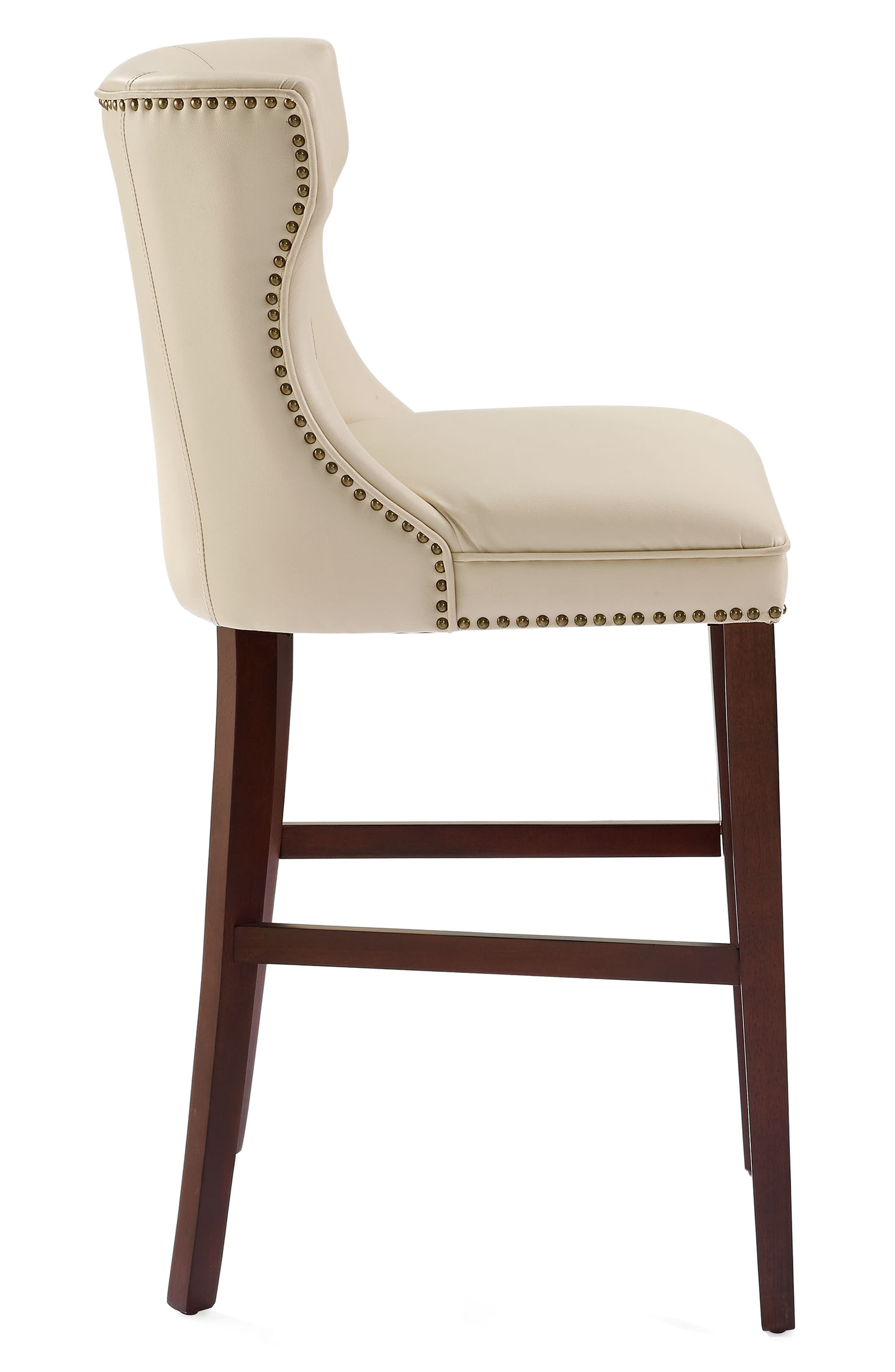 Tilson Bar Stool,                             Alternate thumbnail 3, color,                             Cream
