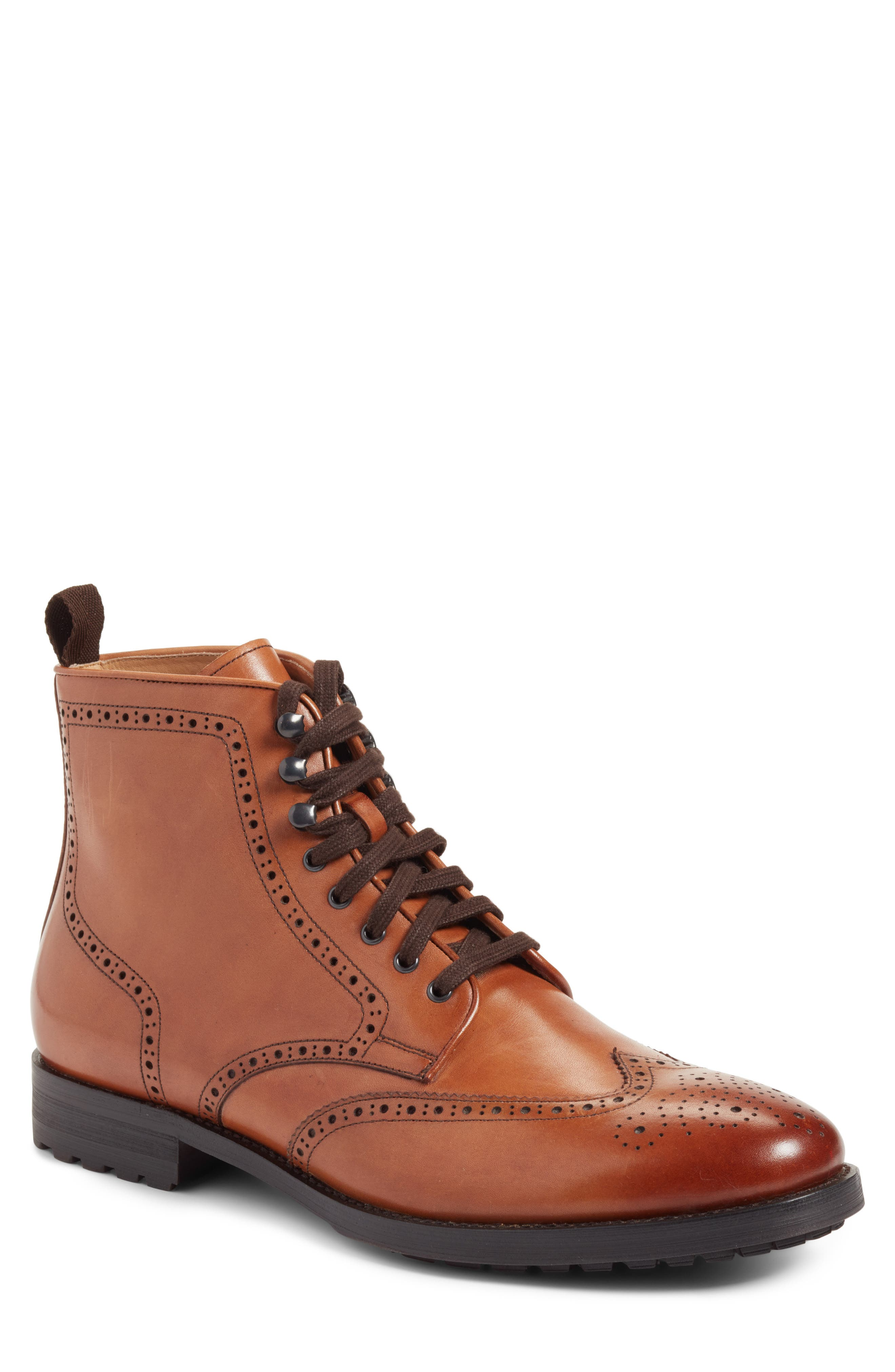 John W. Nordstrom® Granada Wingtip Boot (Men)