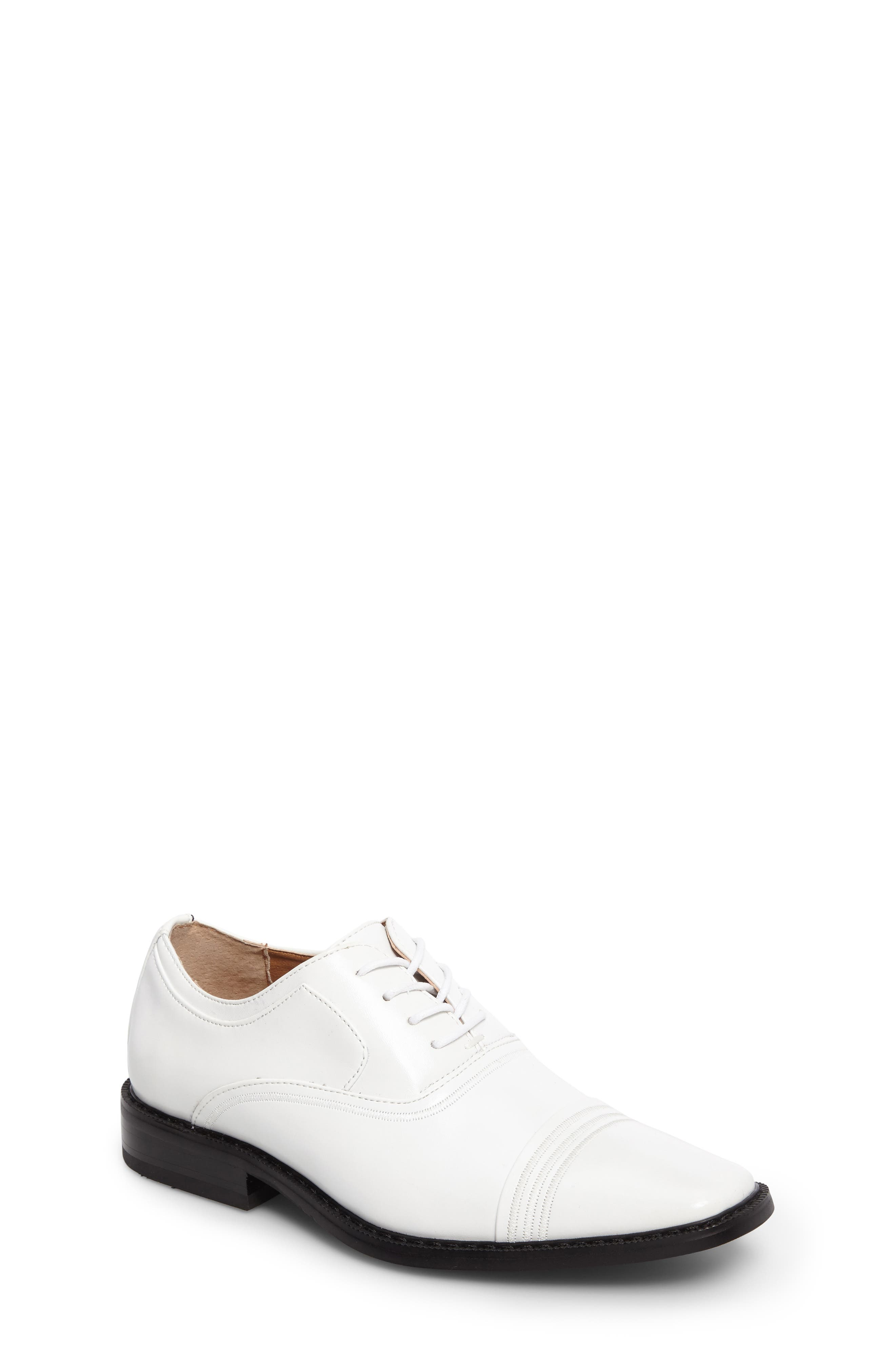 Stacy Adams Bingham Cap Toe Oxford (Toddler, Little Kid & Big Kid)