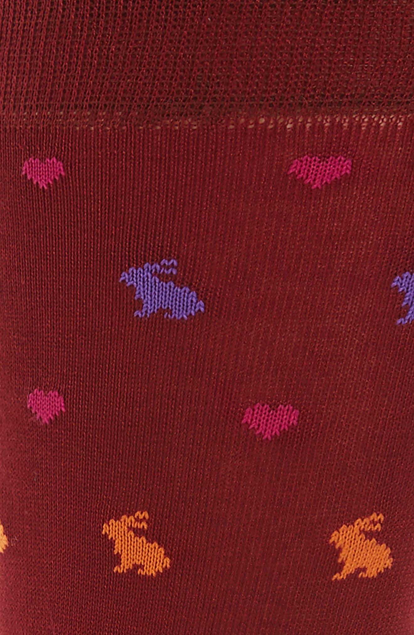 Alternate Image 2  - Paul Smith Valentine Rabbit Socks