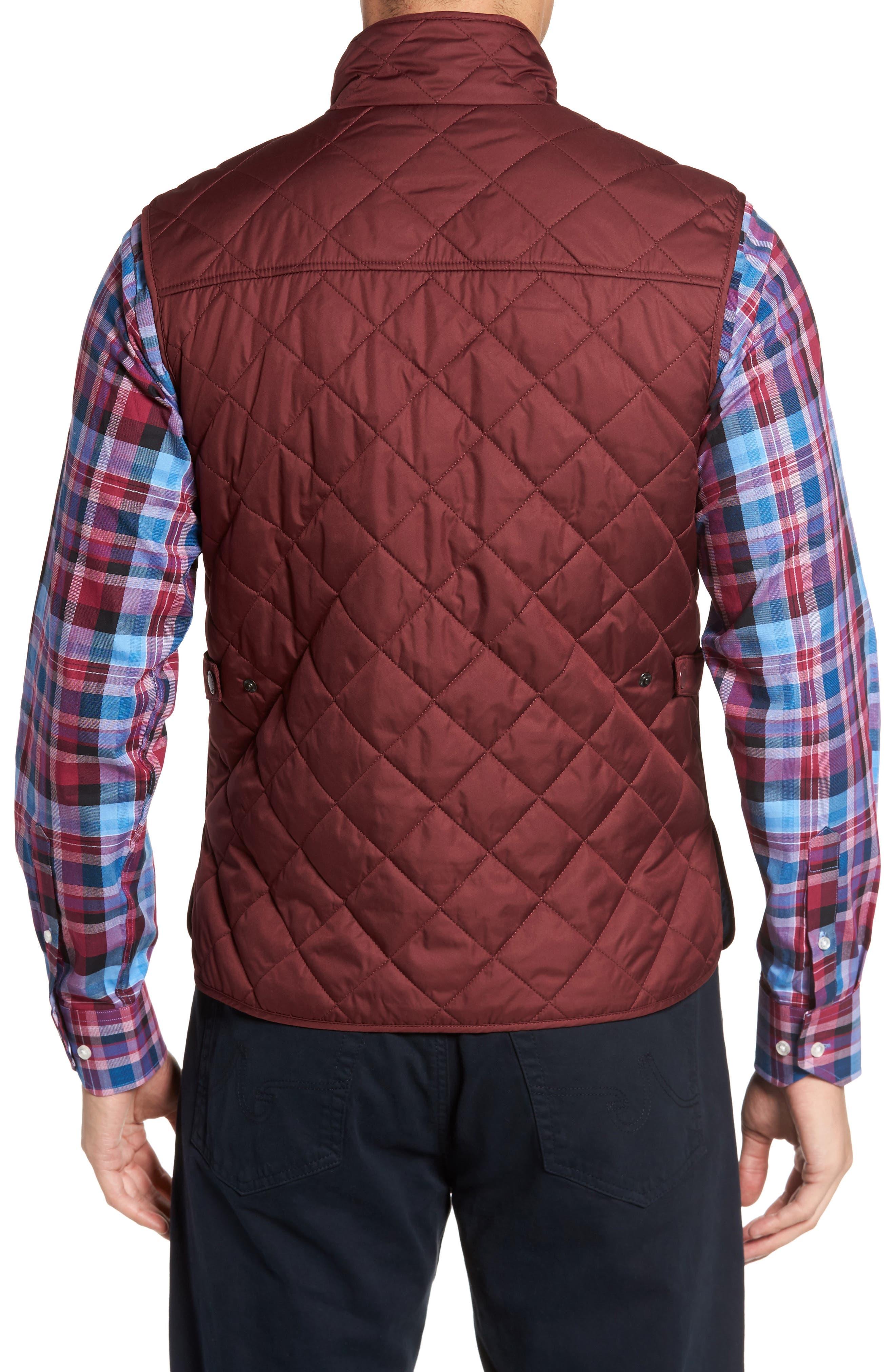 Alternate Image 2  - TailorByrd Hessmer Quilted Vest