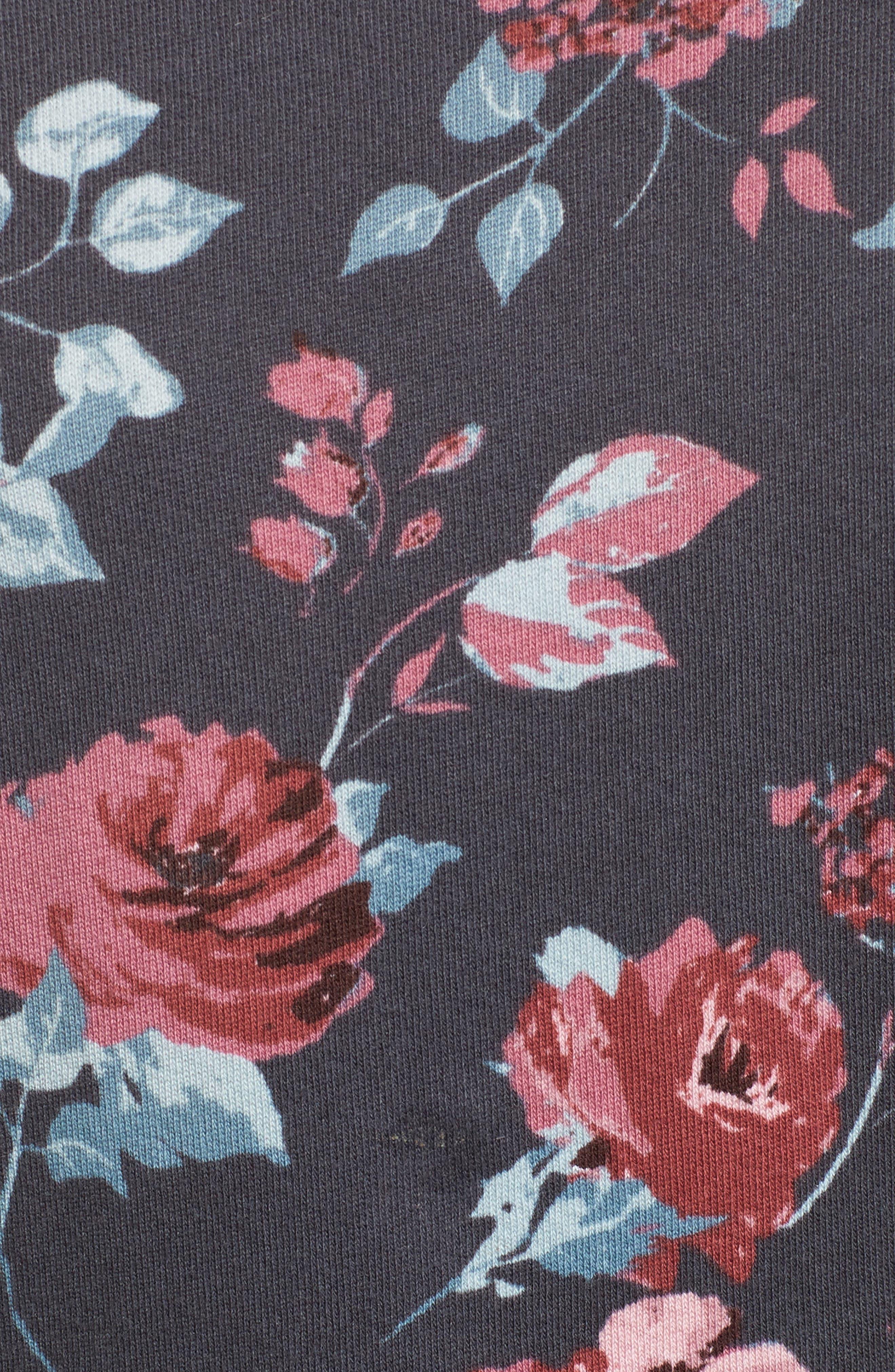 Chelsea Sweatshirt,                             Alternate thumbnail 5, color,                             Pitch Black
