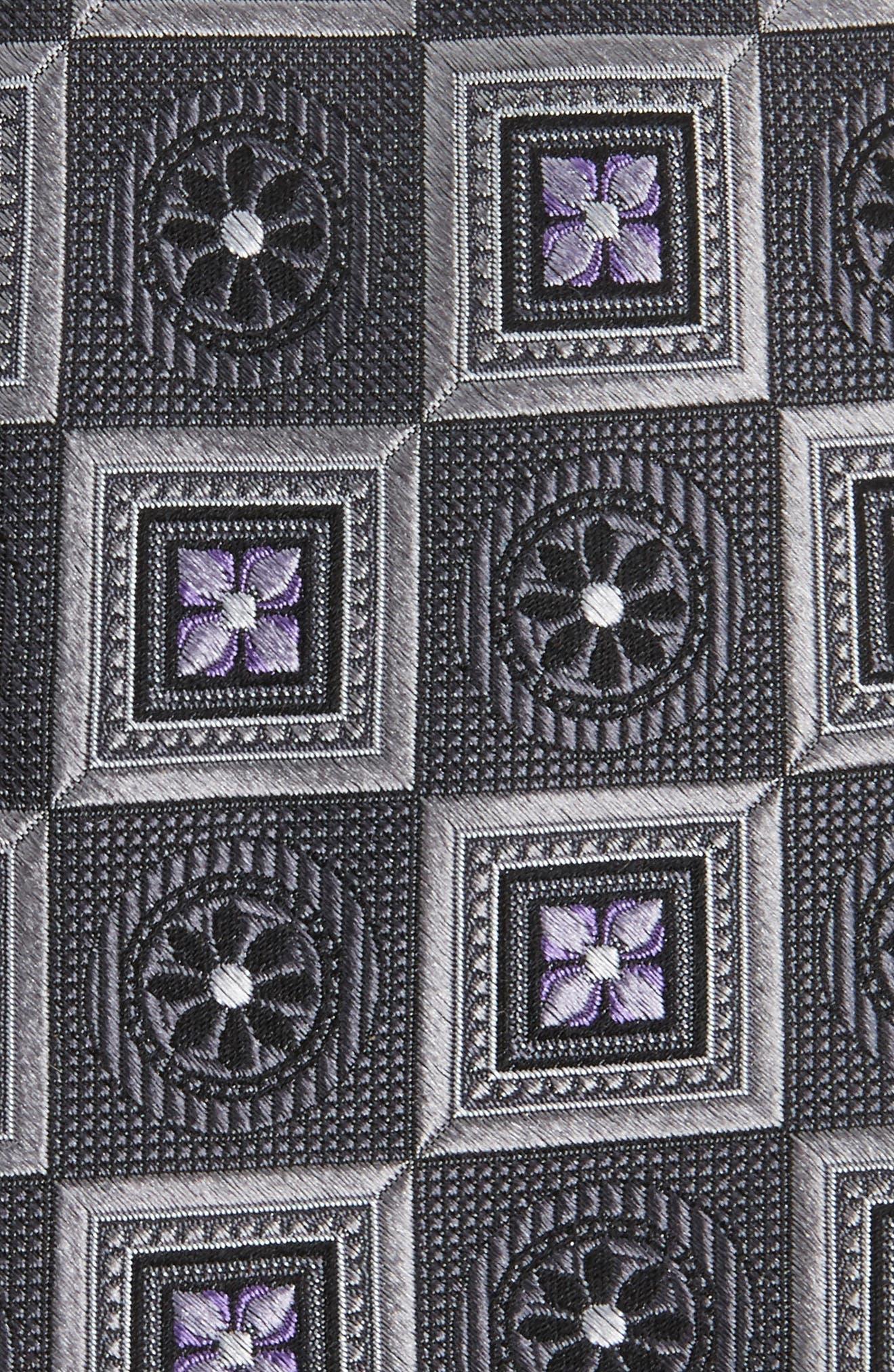 Alternate Image 2  - Nordstrom Men's Shop Medallion Squares Silk Tie