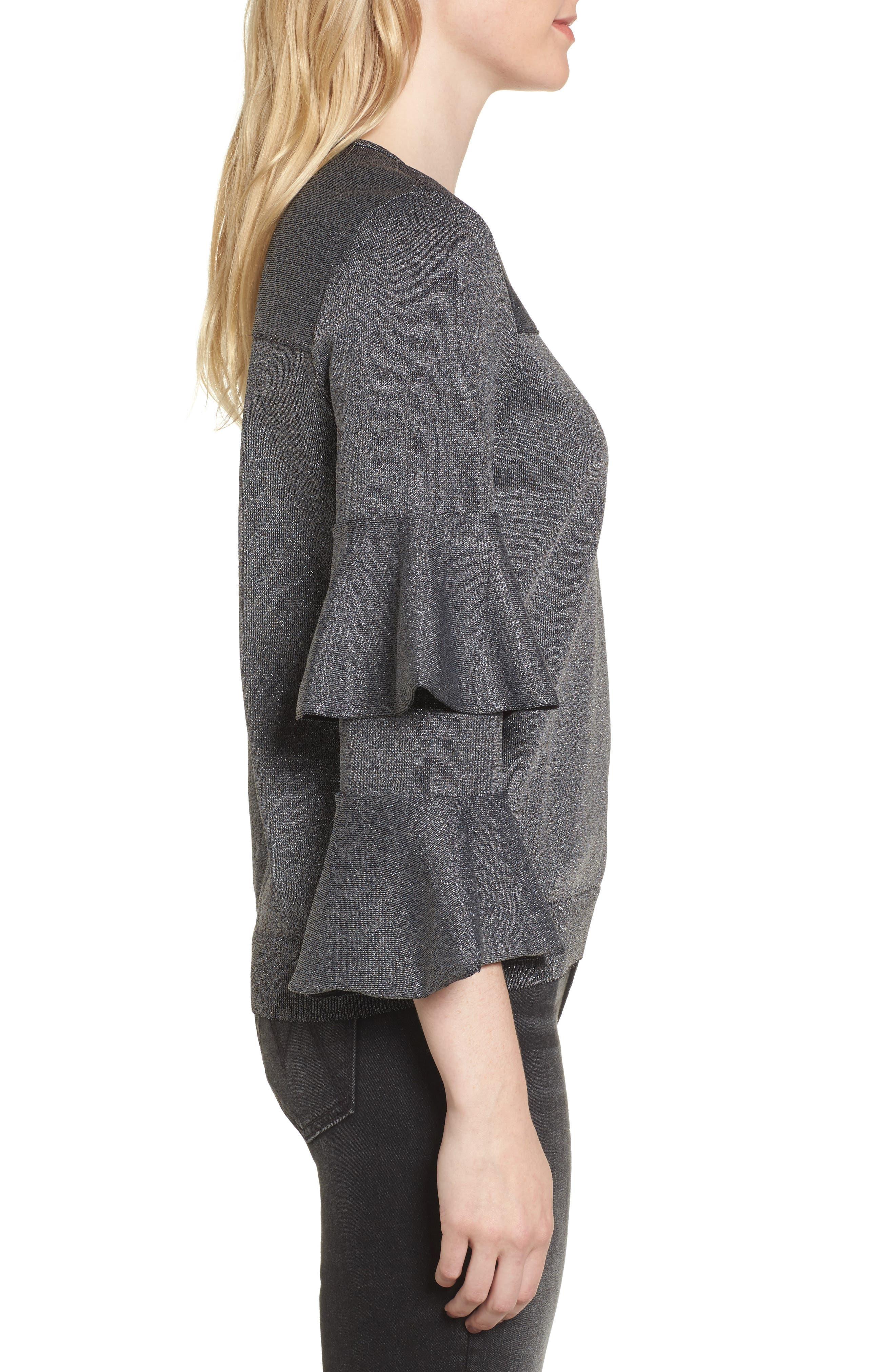 Alternate Image 3  - Parker Jayla Ruffle Sleeve Sweater