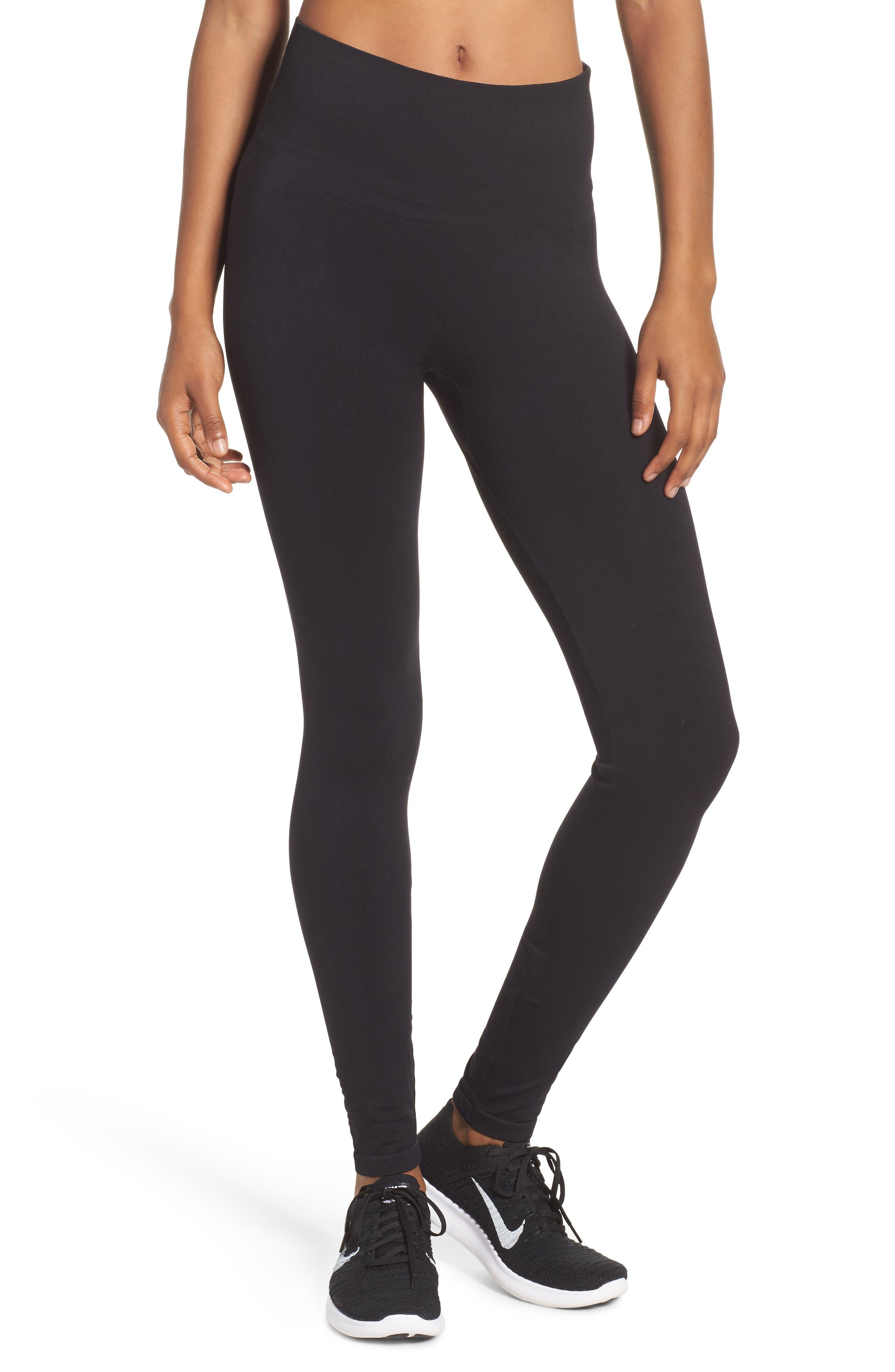 Staple High Waist Leggings,                         Main,                         color, Black