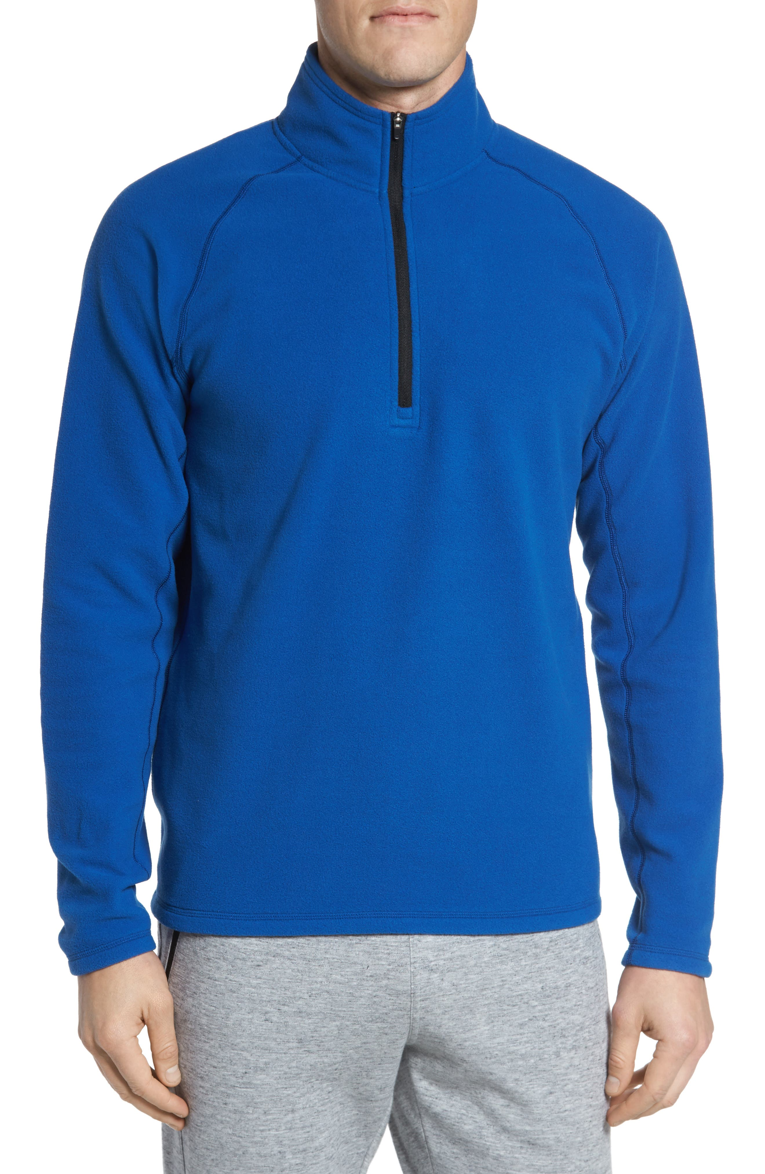 Zella Quarter Zip Fleece Pullover