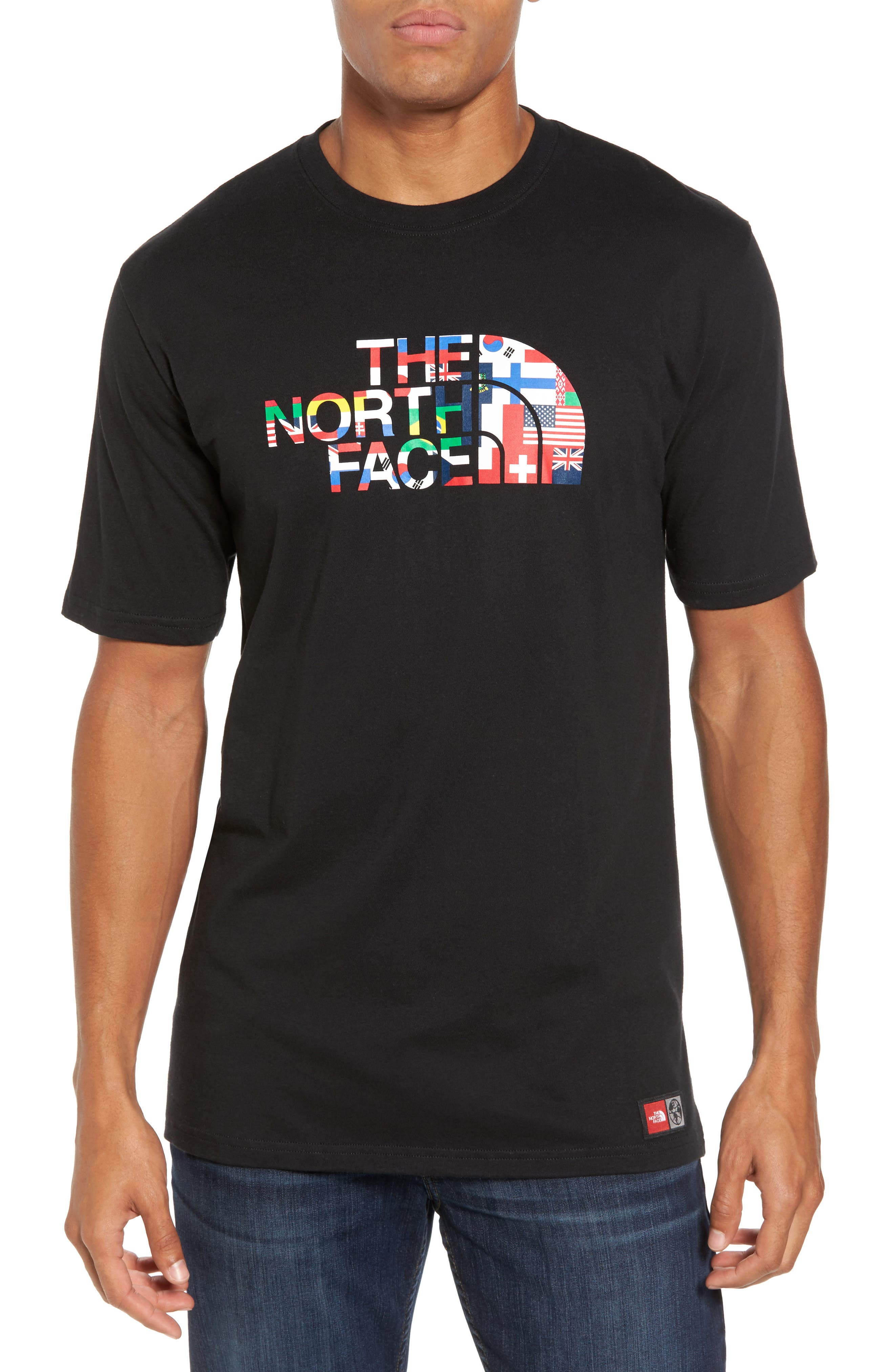 Alternate Image 1 Selected - The North Face International Collection Crewneck T-Shirt