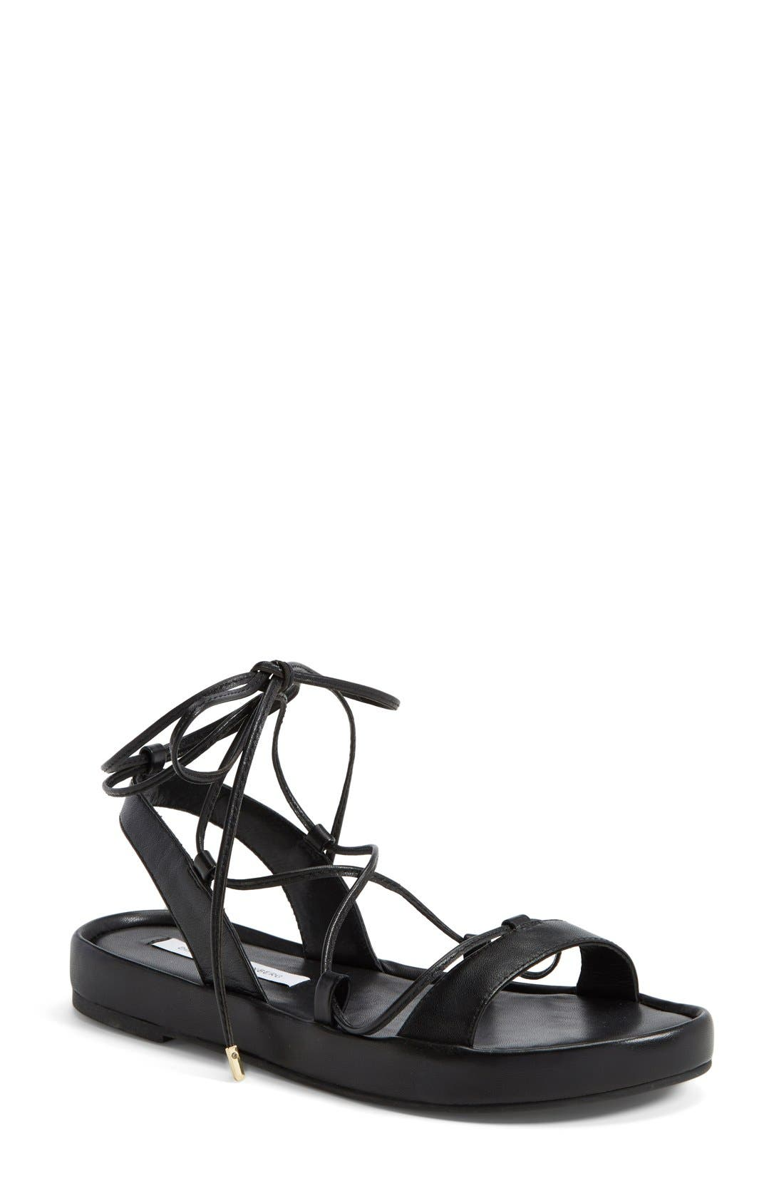 Alternate Image 1 Selected - Diane von Furstenberg 'Susie' Gladiator Sandal (Women)