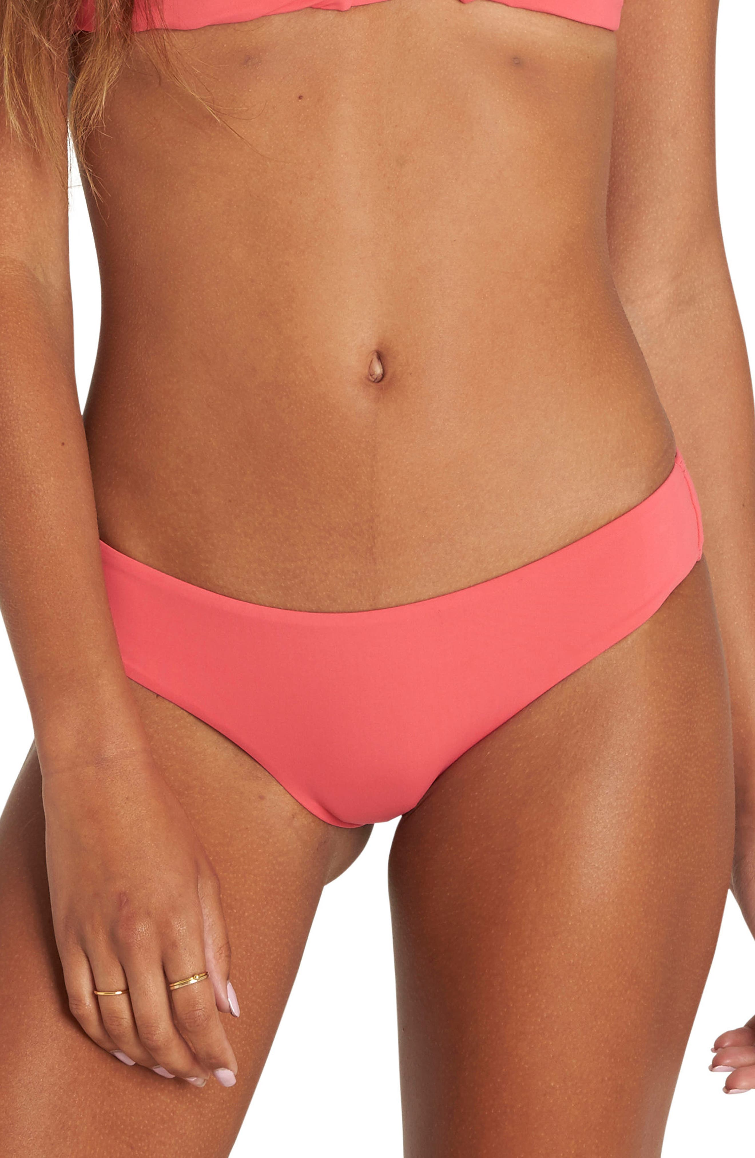 Sol Searcher Hawaii Bikini Bottoms,                             Main thumbnail 1, color,                             Passion Fruit