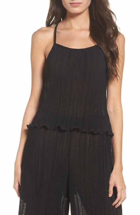 LACAUSA Pleated Tank