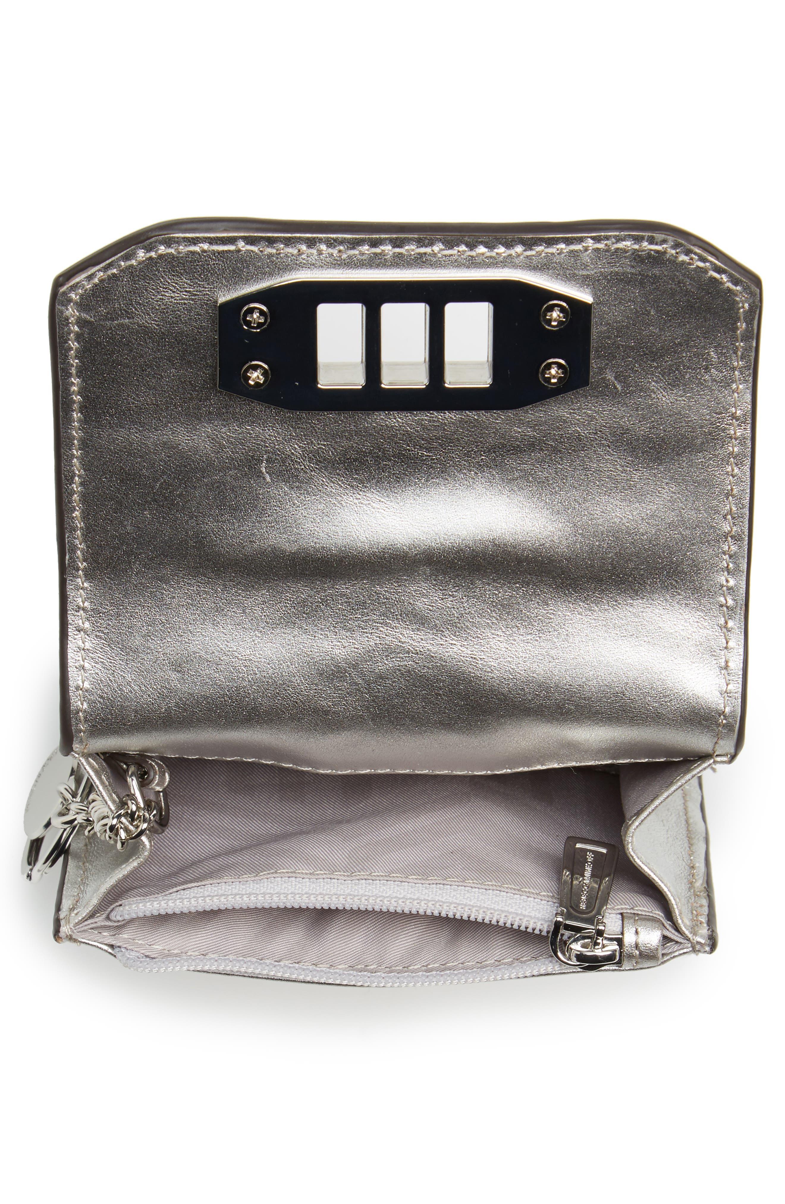 Alternate Image 4  - Rebecca Minkoff Love Lock Leather Wallet