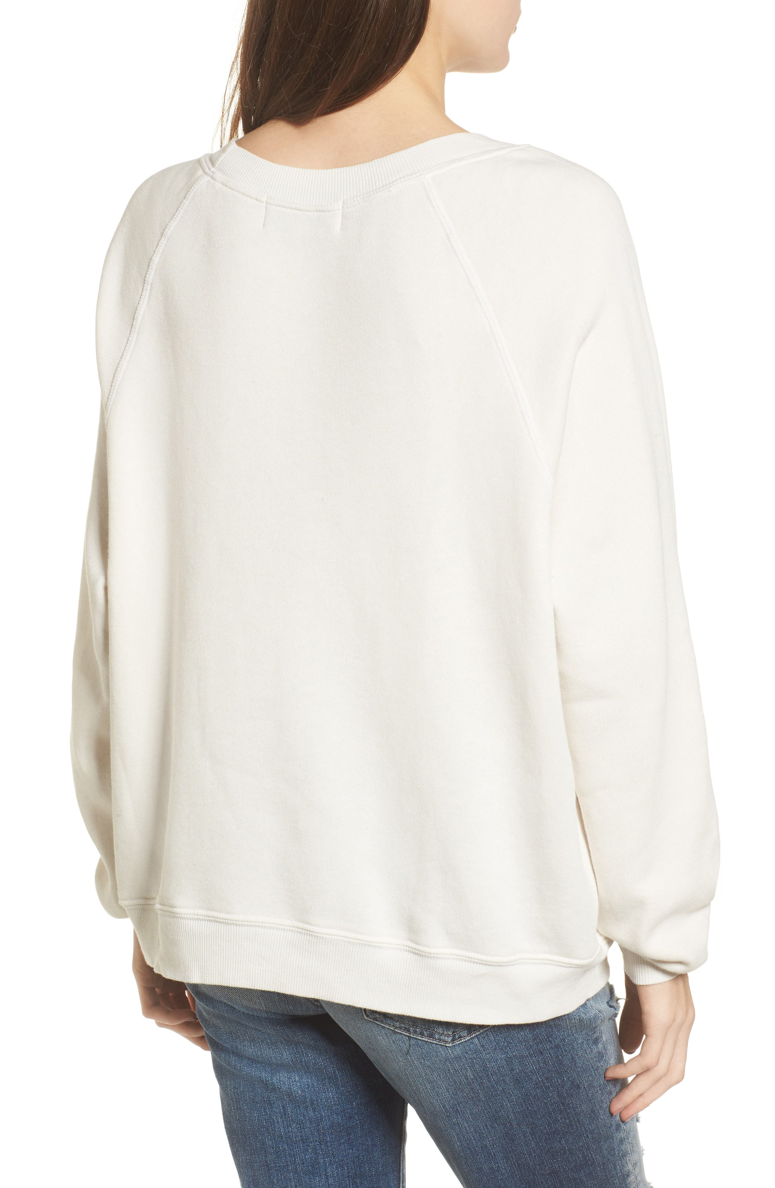 Alternate Image 2  - Wildfox Less Is a Snore Sweatshirt