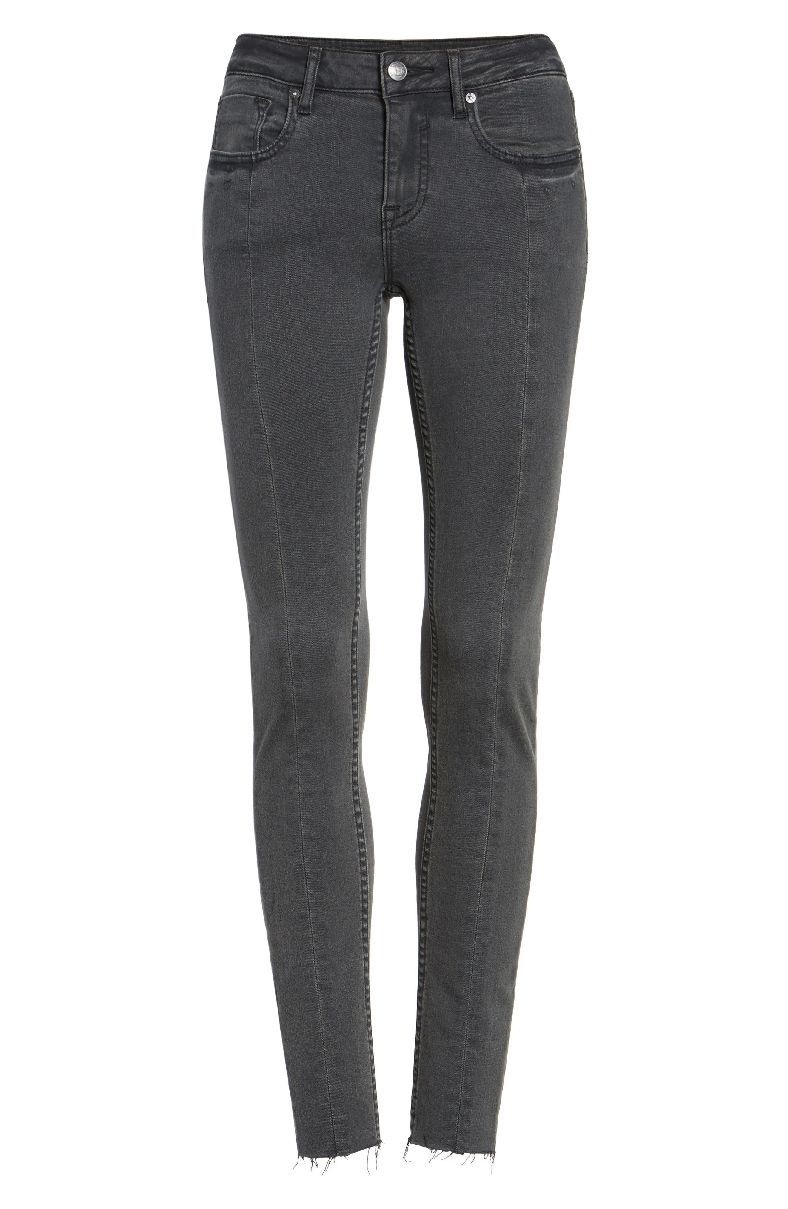 Alternate Image 6  - Vigoss Jagger Front Seam Skinny Jeans