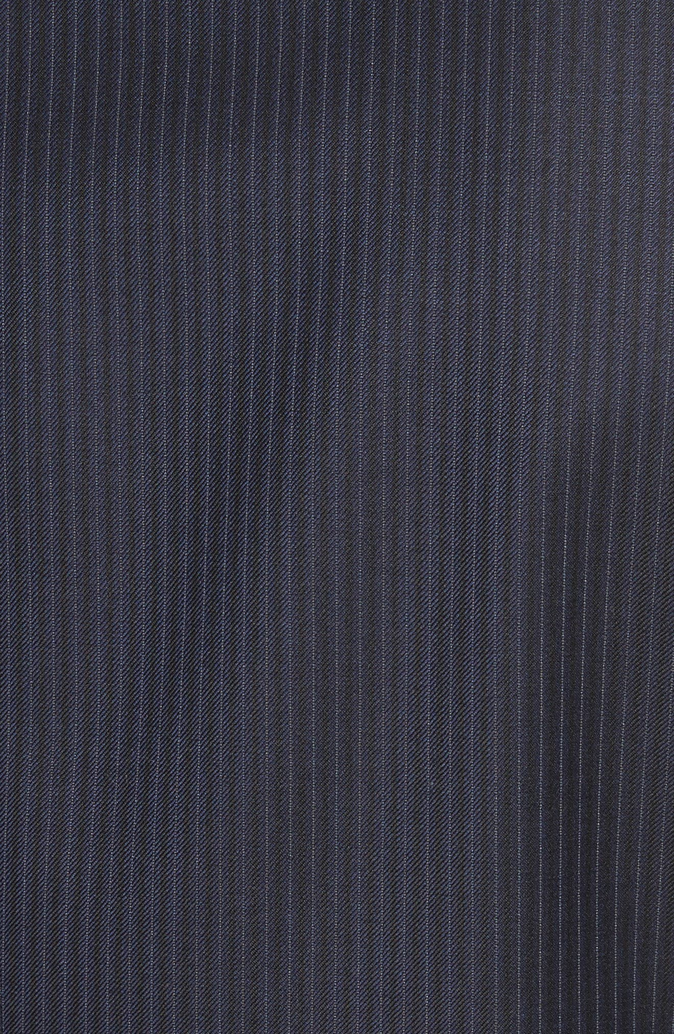 Alternate Image 7  - Canali Classic Fit Stripe Wool Suit