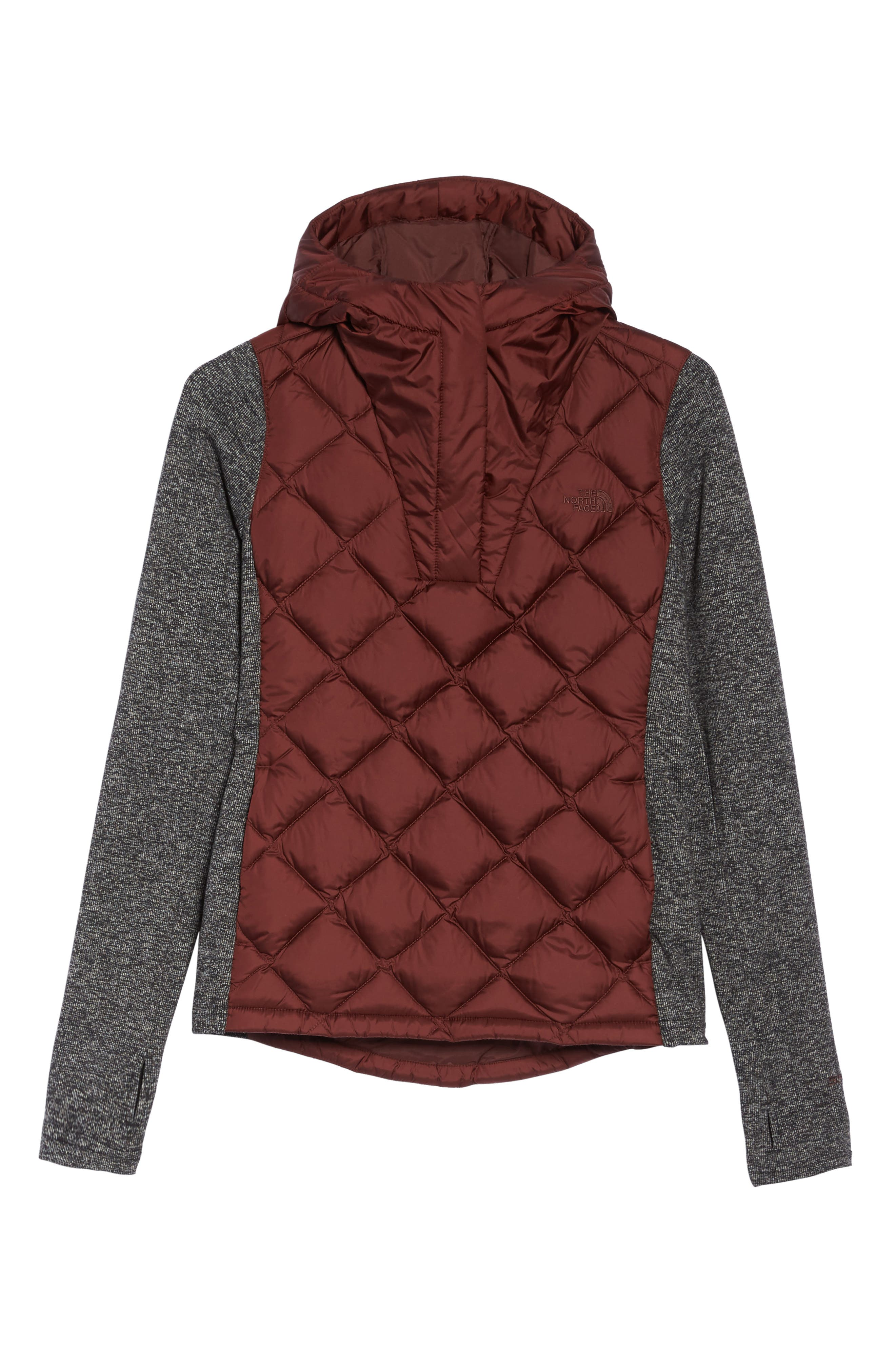 Harway Hybrid Pullover,                         Main,                         color, Sequoia Red