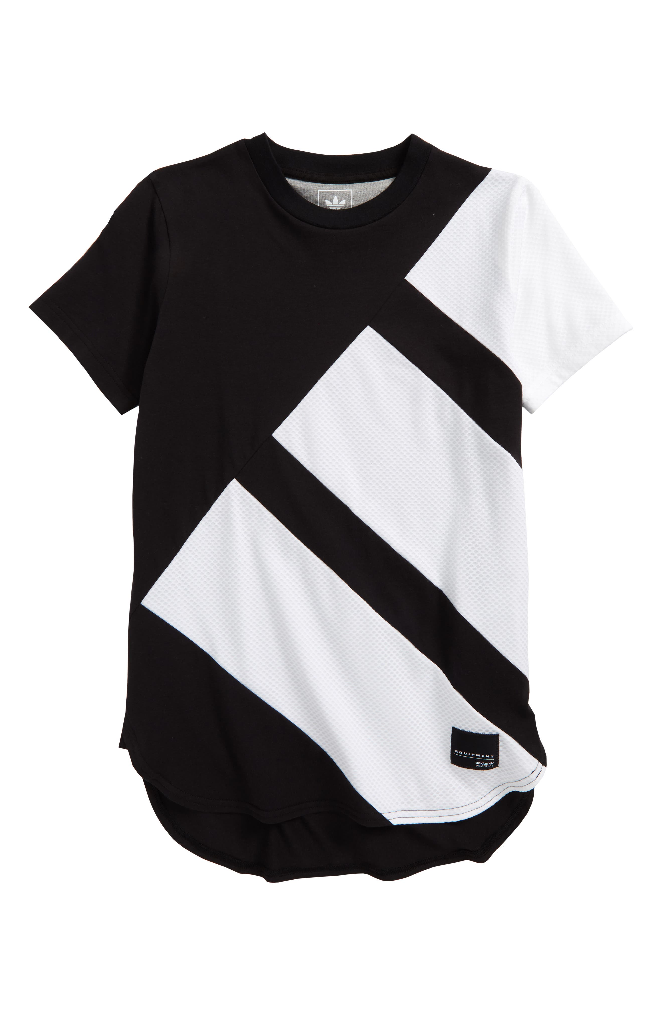 Alternate Image 1 Selected - adidas Originals EQT Elongated T-Shirt (Little Boys & Big Boys)