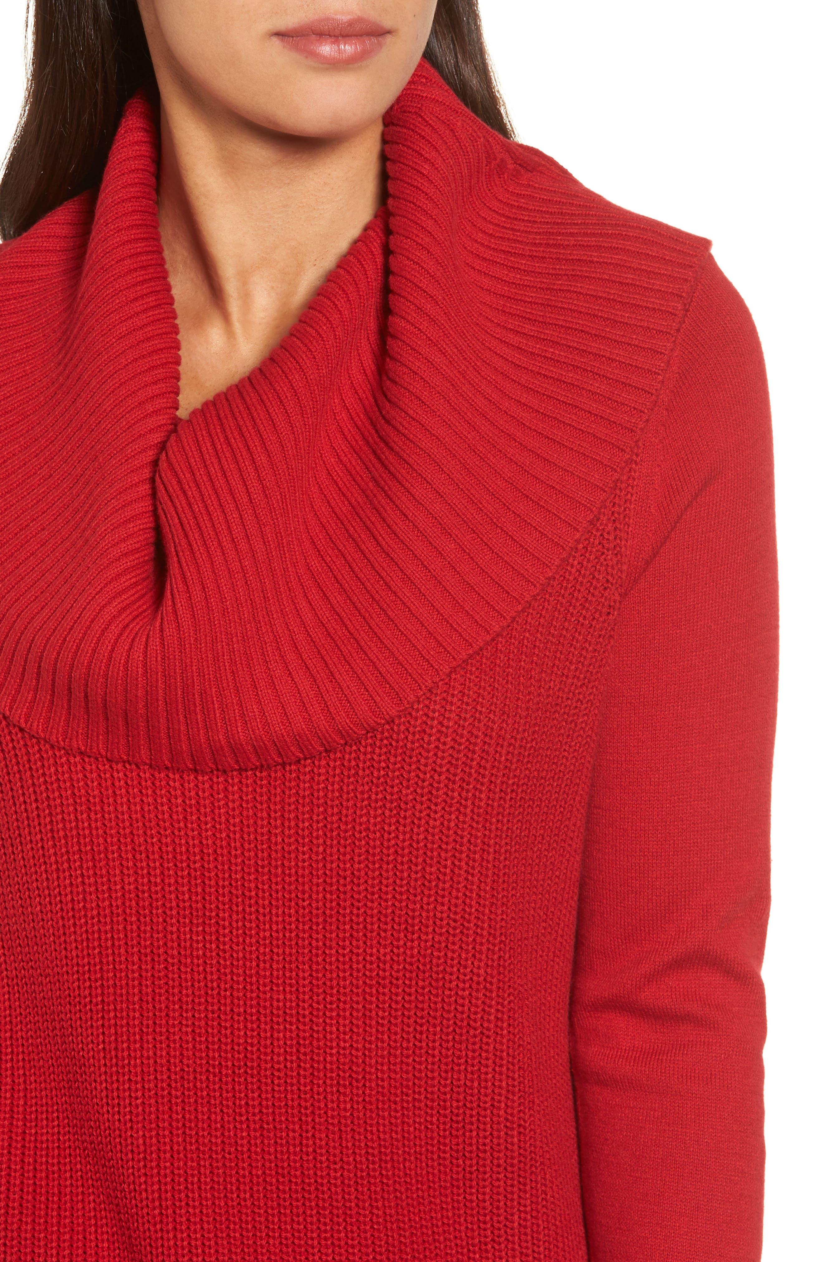 Alternate Image 4  - MICHAEL Michael Kors Cowl Neck Sweater