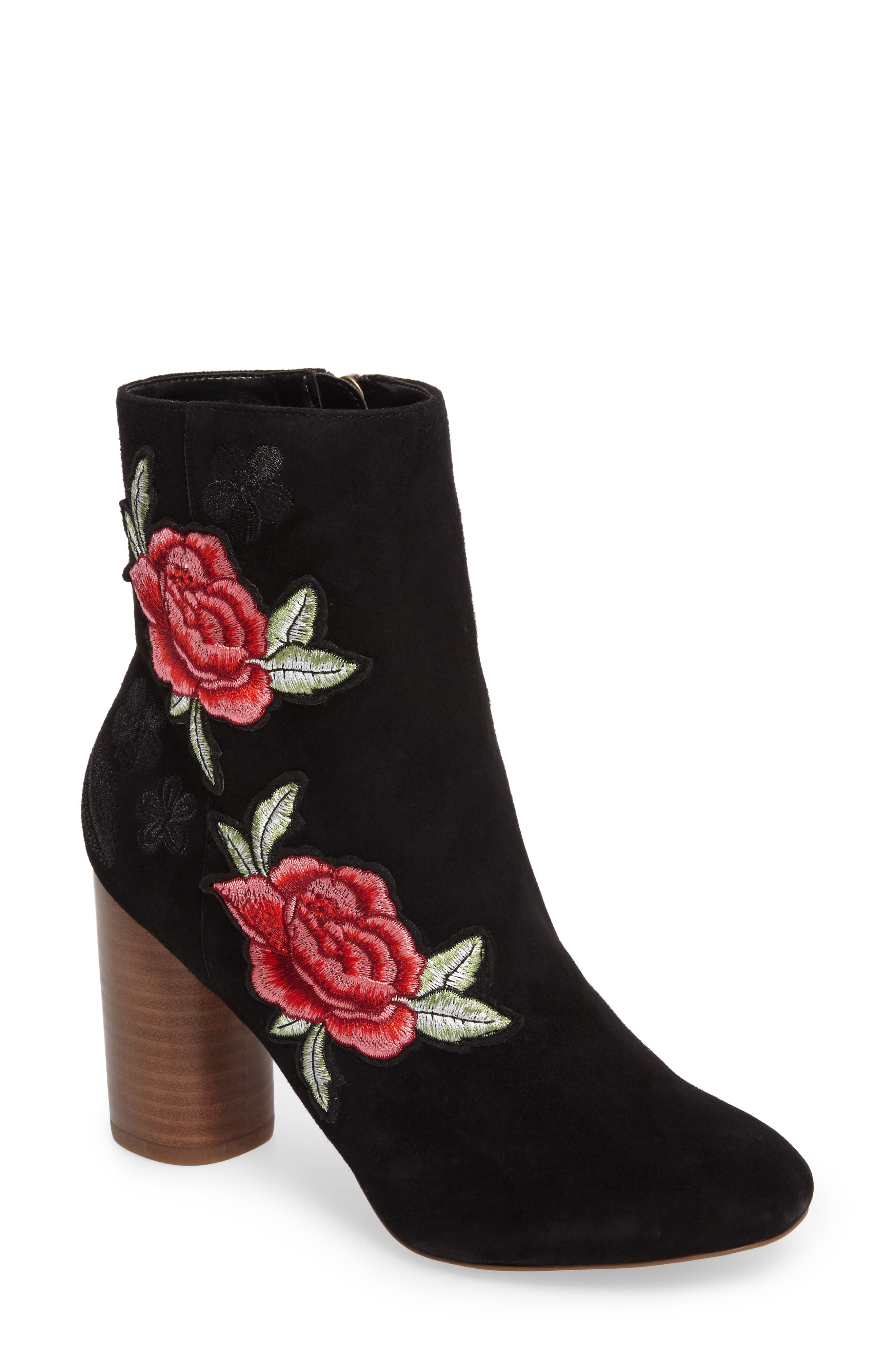 Main Image - Sole Society Mulholland Embroidered Boot (Women)