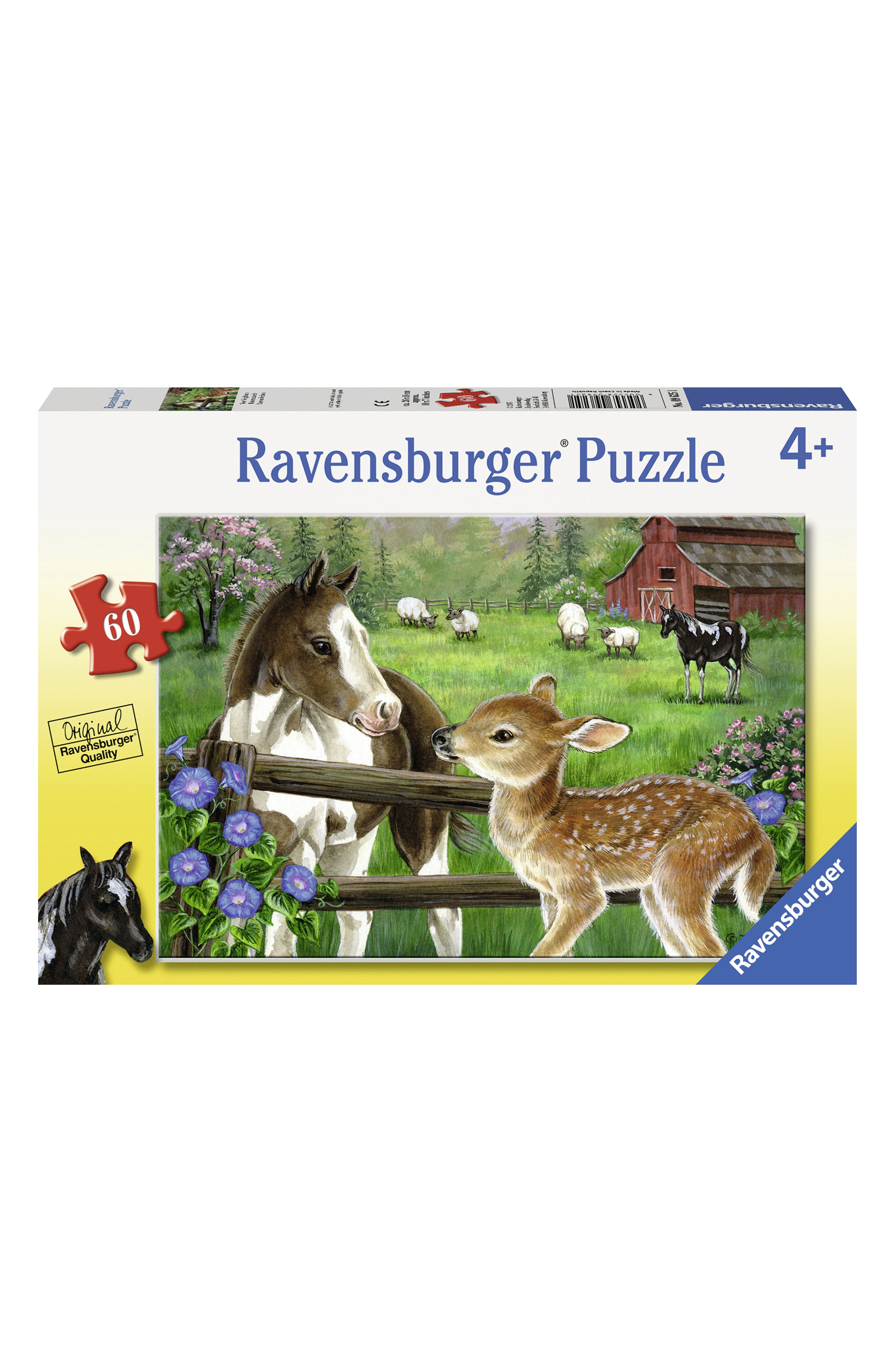 New Neighbors 60-Piece Puzzle,                         Main,                         color, Green