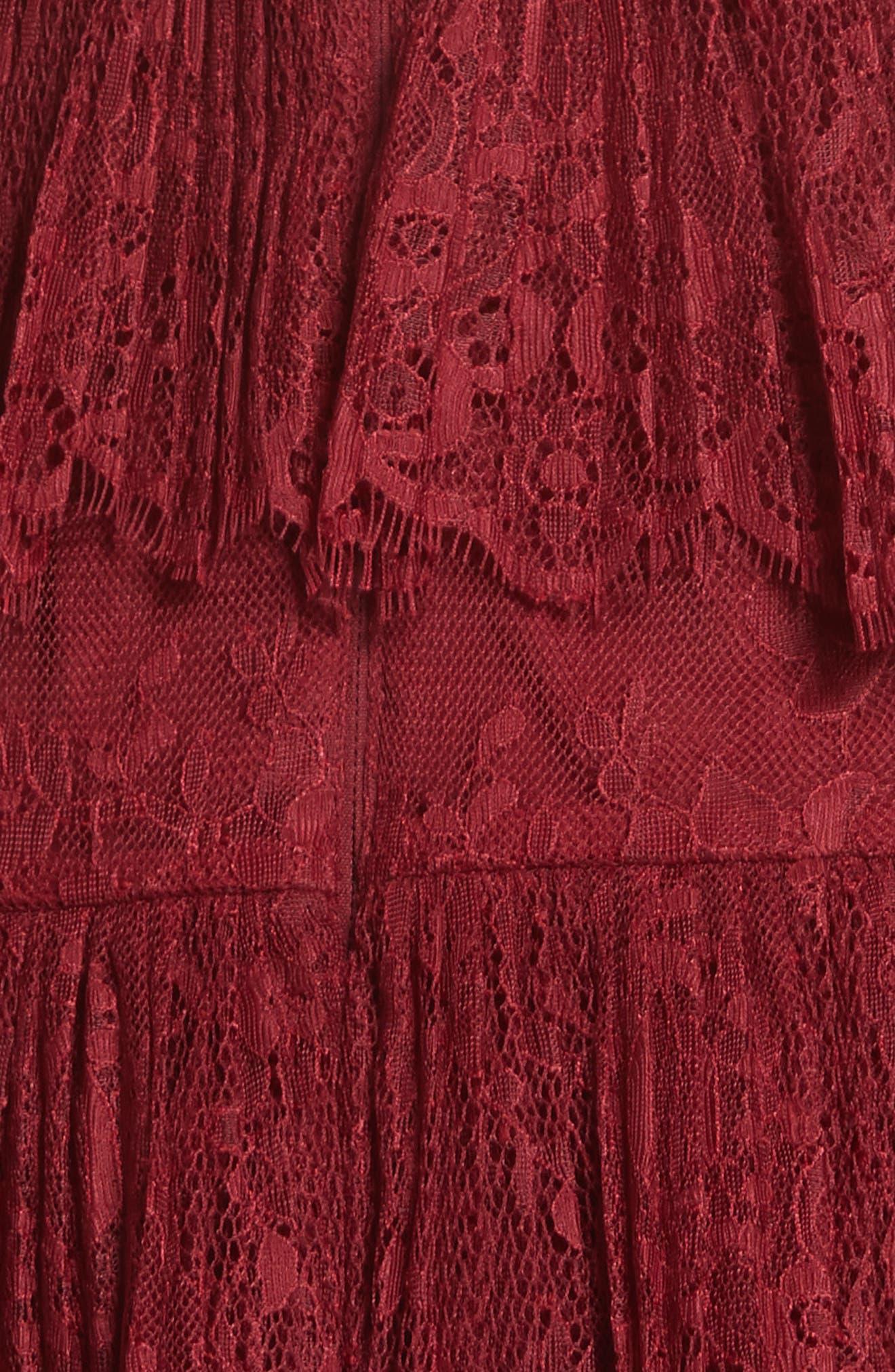 Alternate Image 5  - Self-Portrait Pleated Lace Dress