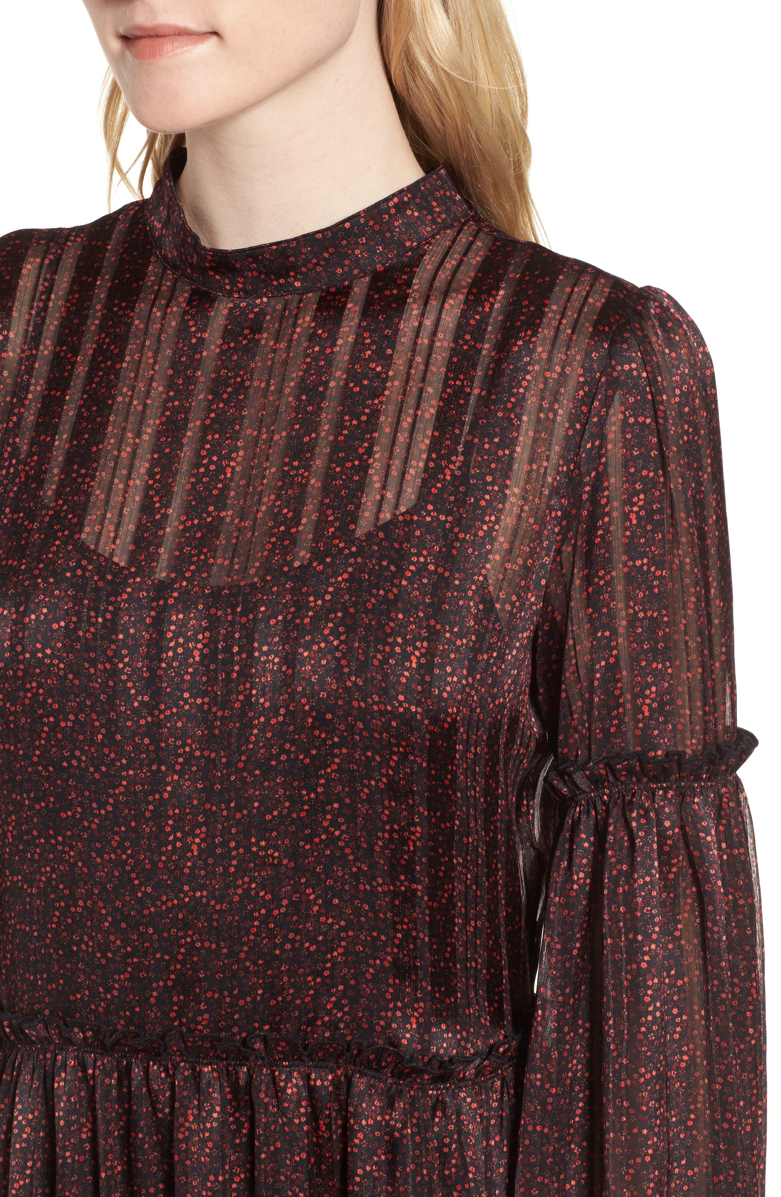 Alternate Image 4  - Hinge Print Long Dress