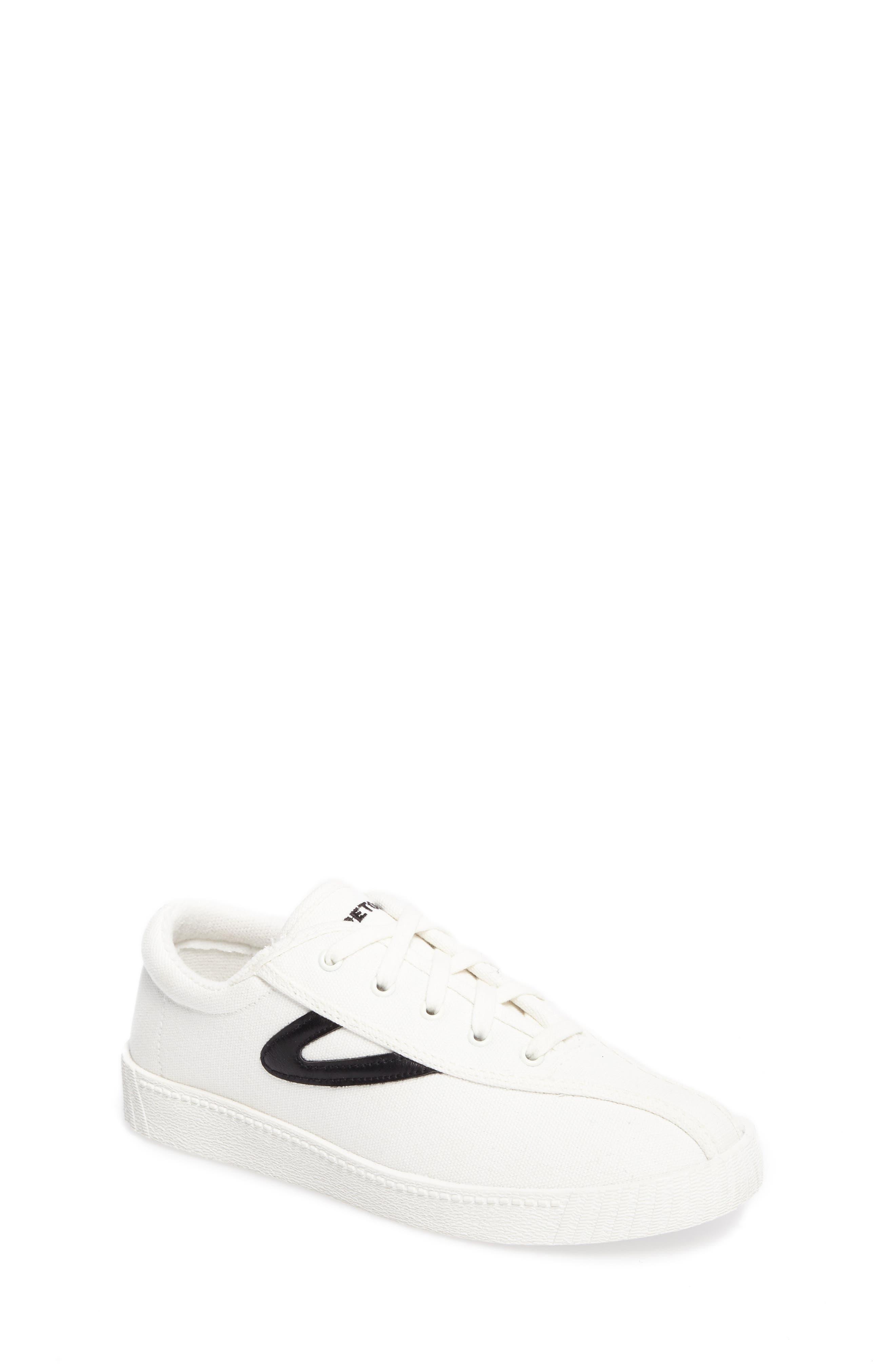 Nylite Plus Sneaker,                         Main,                         color, White/ Black