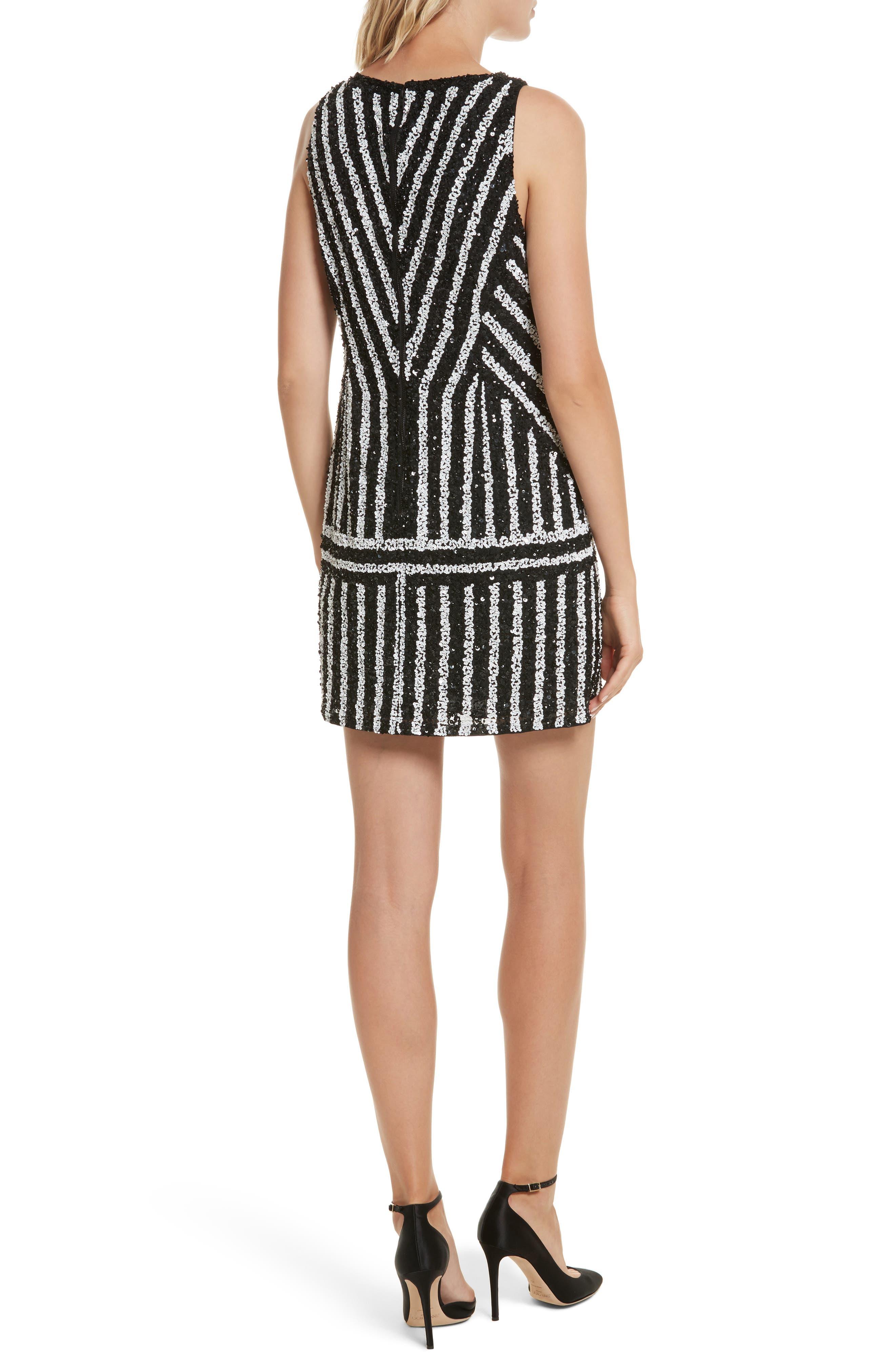 Alternate Image 3  - Alice + Olivia Venetia Embellished Shift Dress