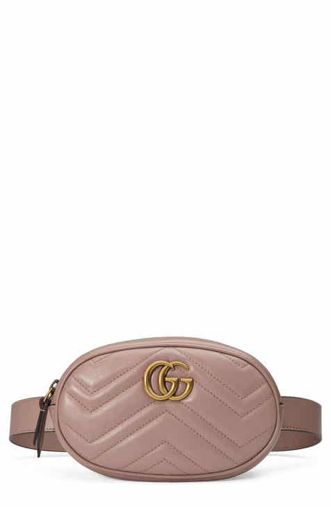 7935f4b31 Gucci GG Marmont 2.0 Matelassé Leather Belt Bag