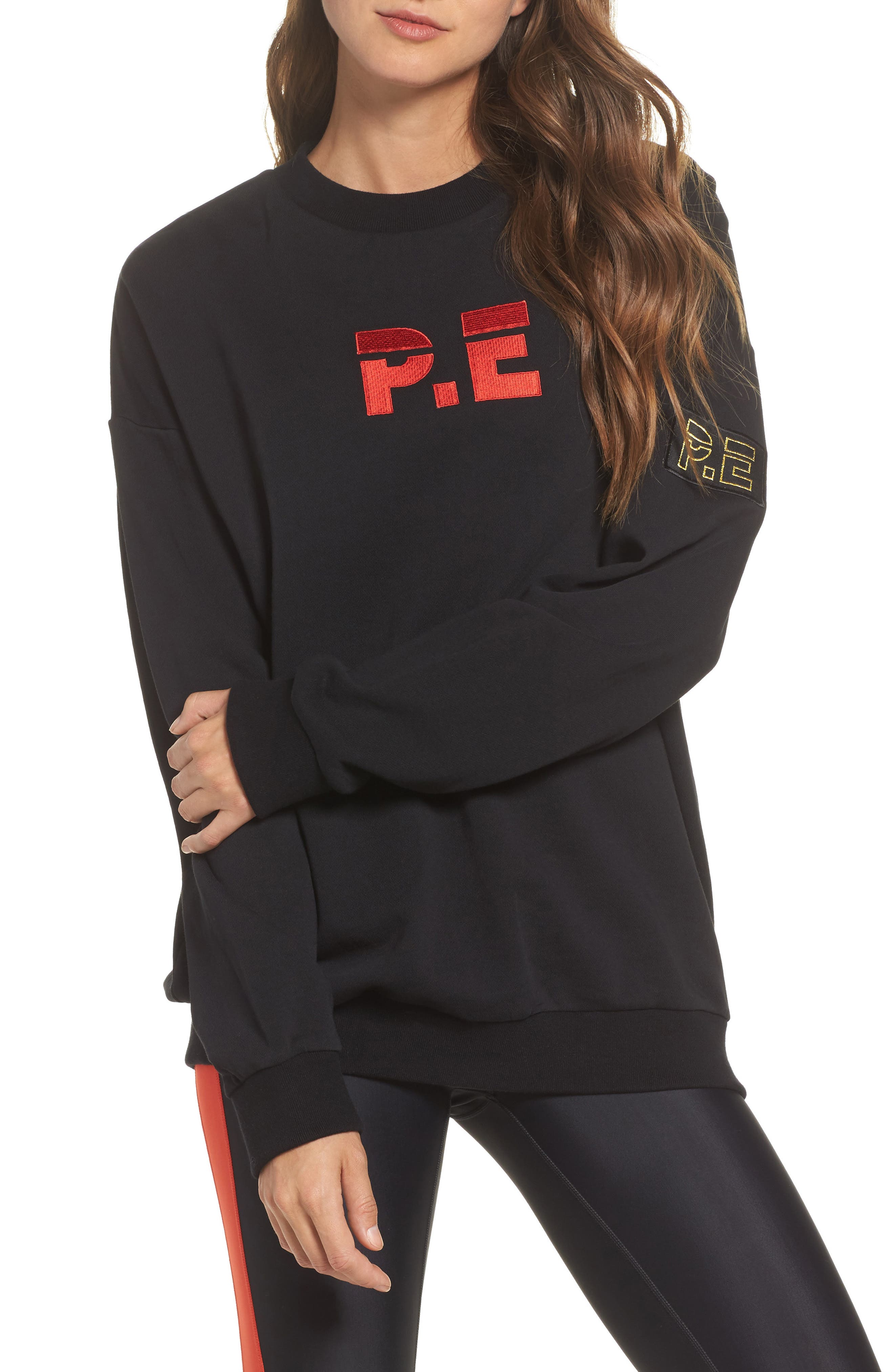 Get Set Sweatshirt,                             Main thumbnail 1, color,                             Black