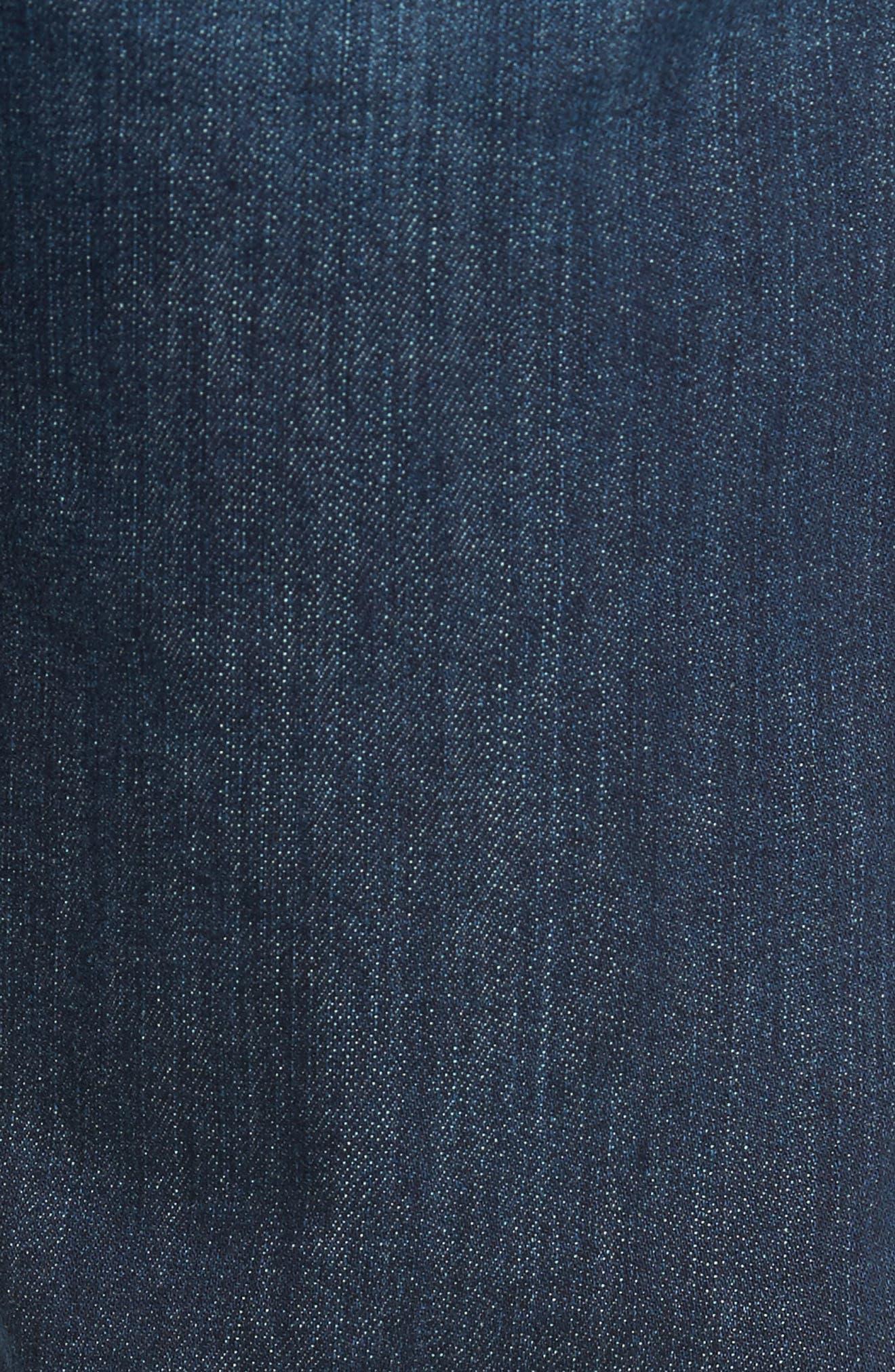 Alternate Image 5  - PAIGE Lennox Slim Fit Jeans (Ridge)