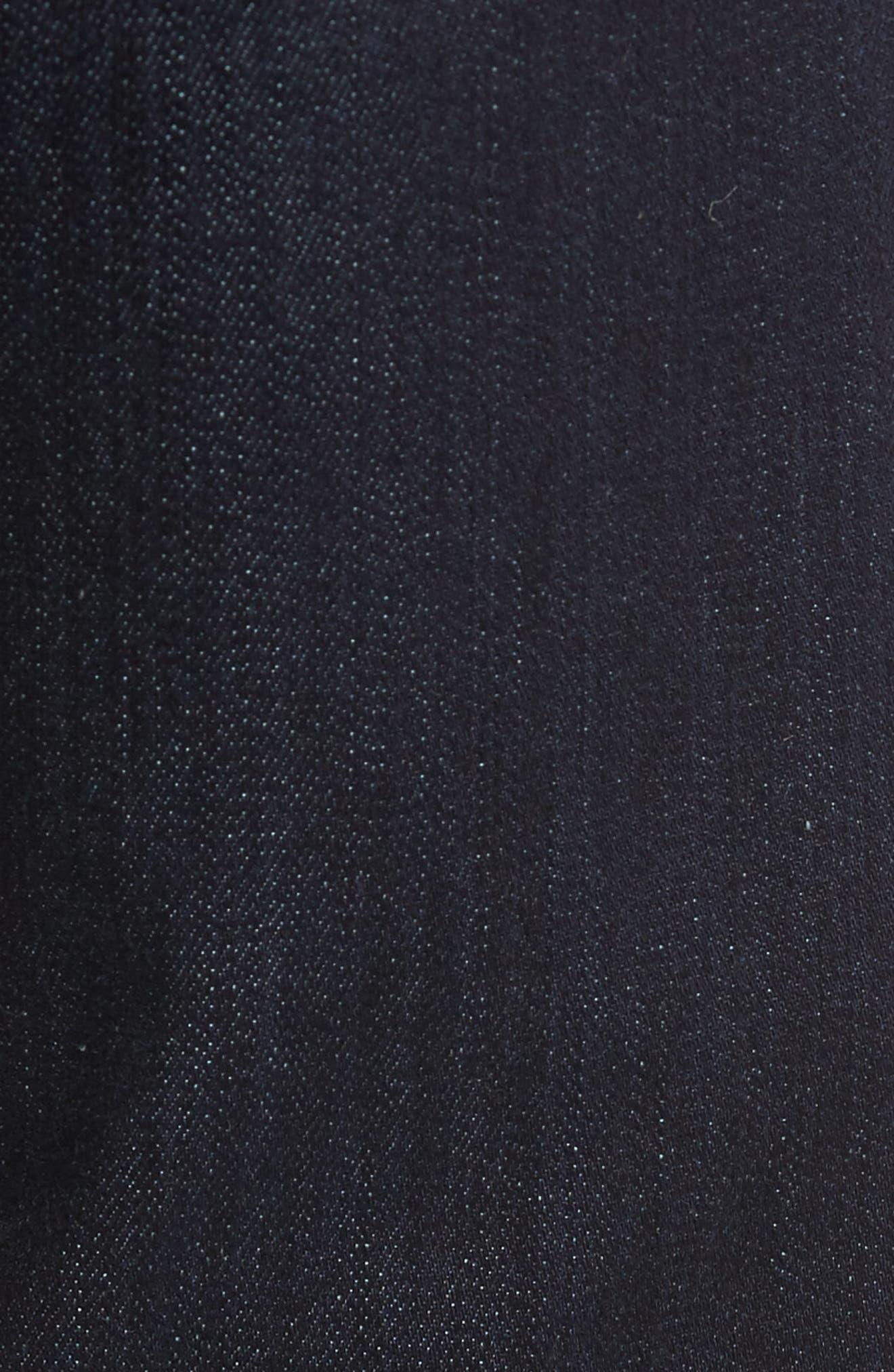 Alternate Image 5  - Fidelity Denim Slim Fit Jeans (Galaxy)