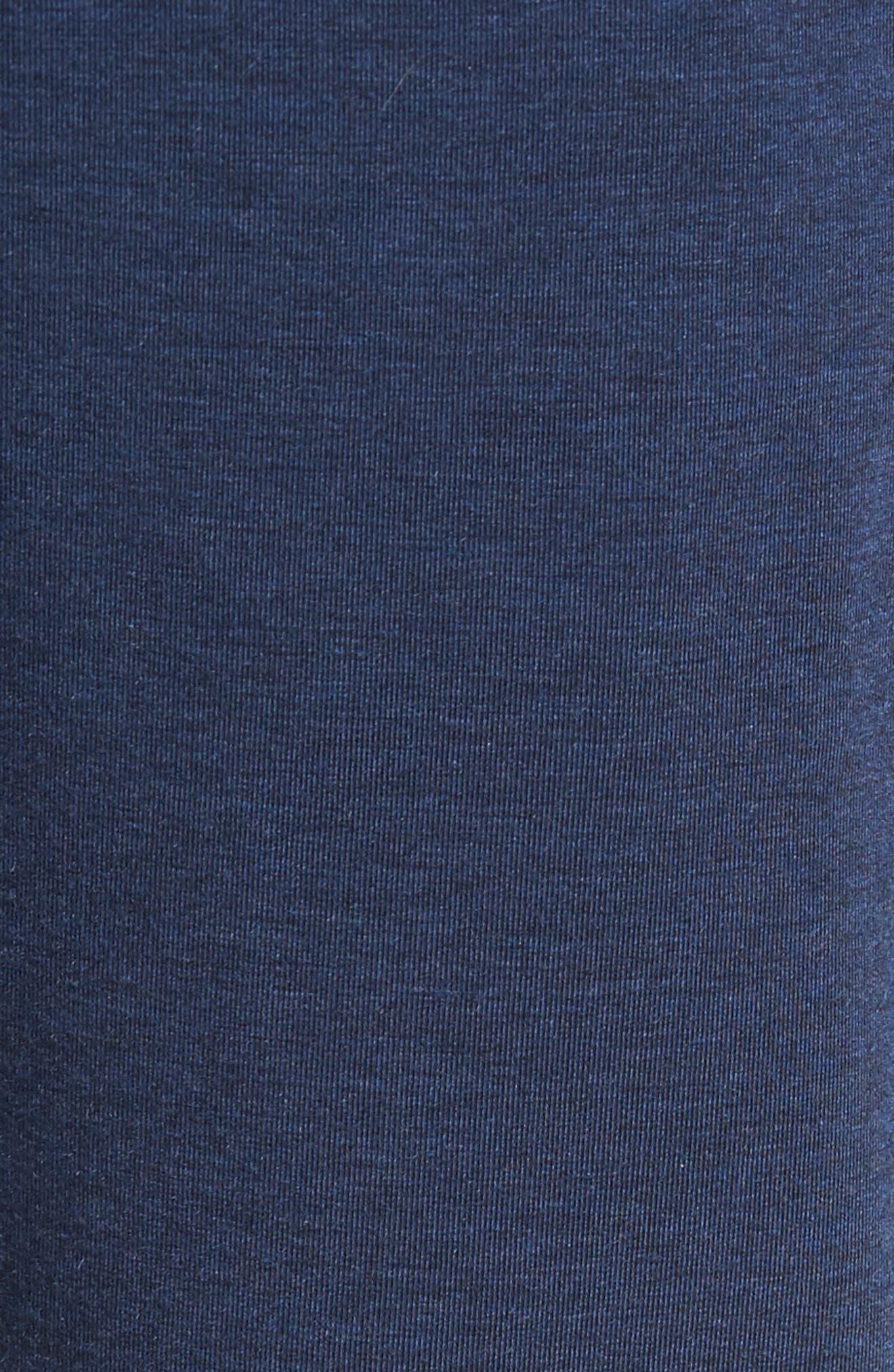 Alternate Image 5  - Surfside Supply Brushback Fleece Jogger Pants