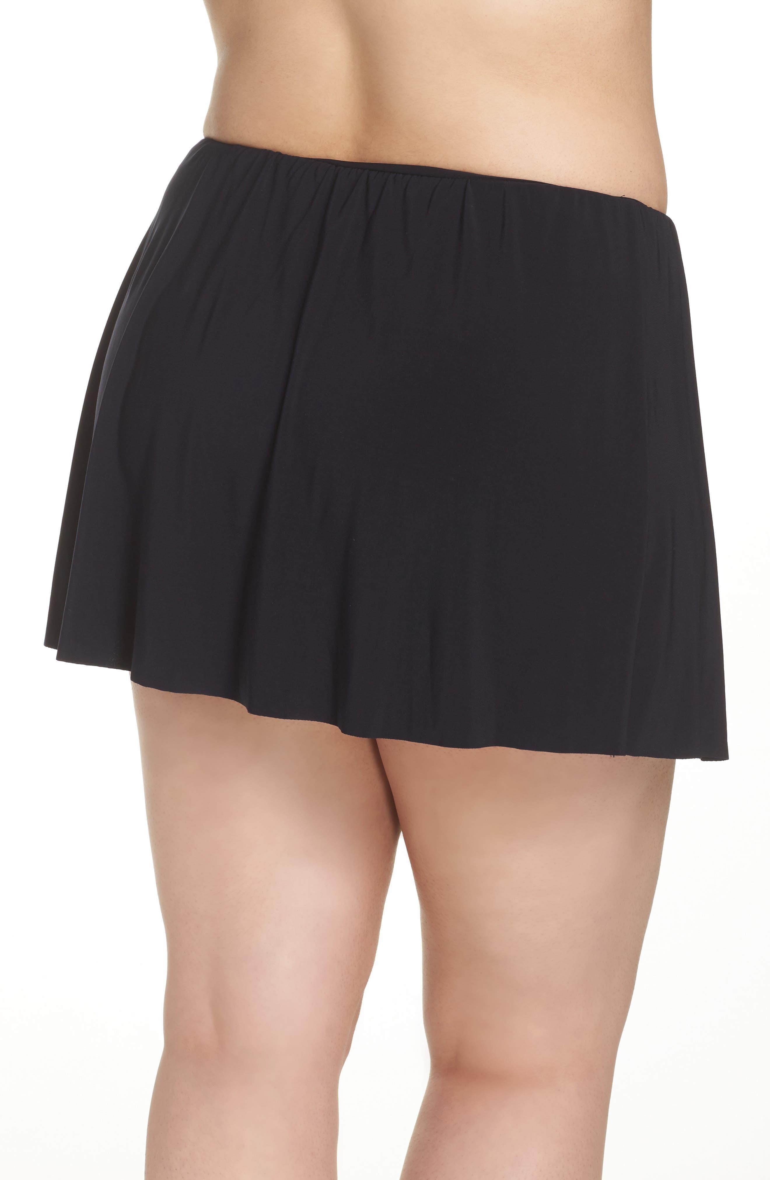 Alternate Image 2  - Magicsuit® Skirted Bikini Bottoms