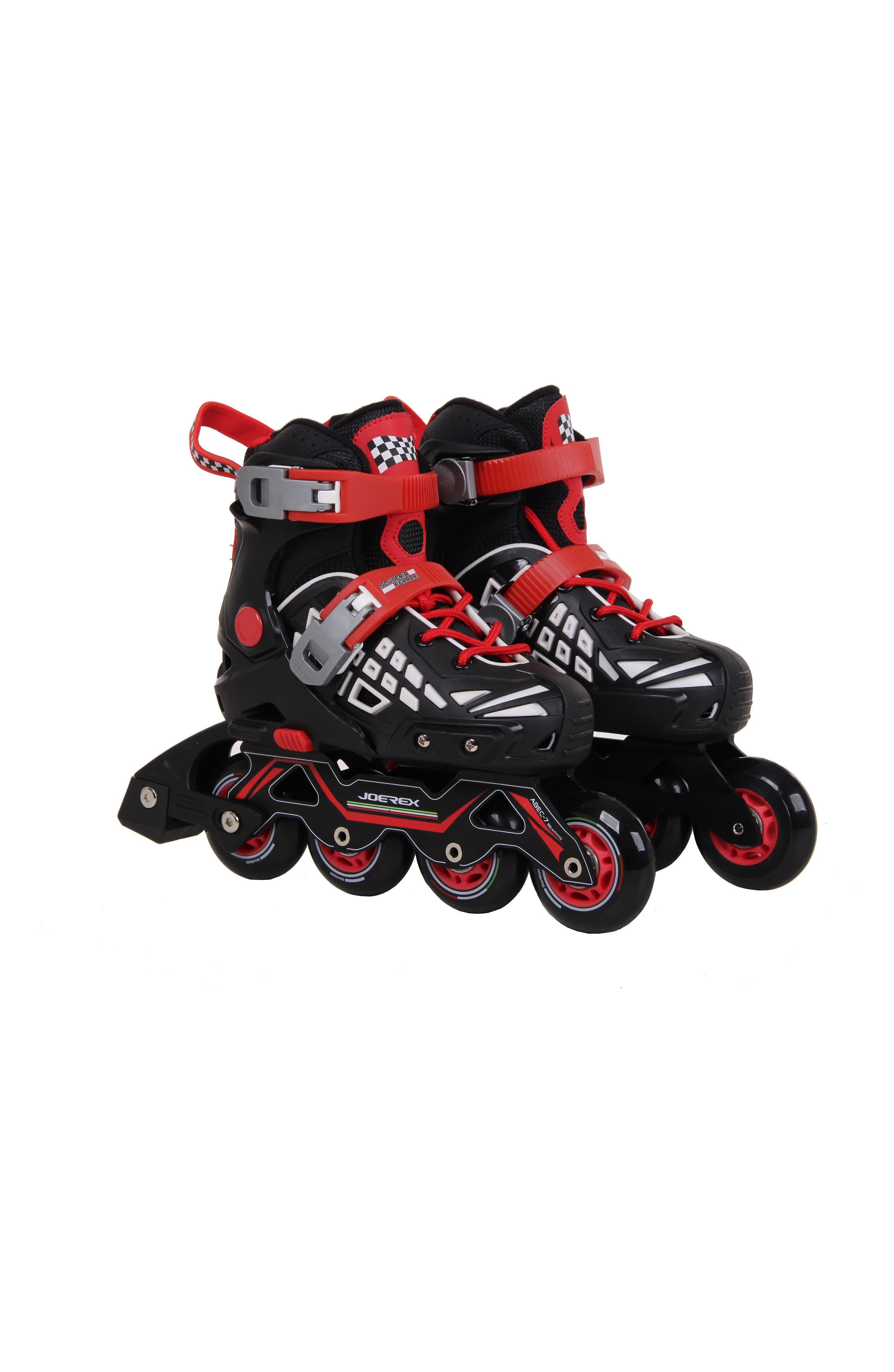 Slalom Inline Skates,                         Main,                         color, Black