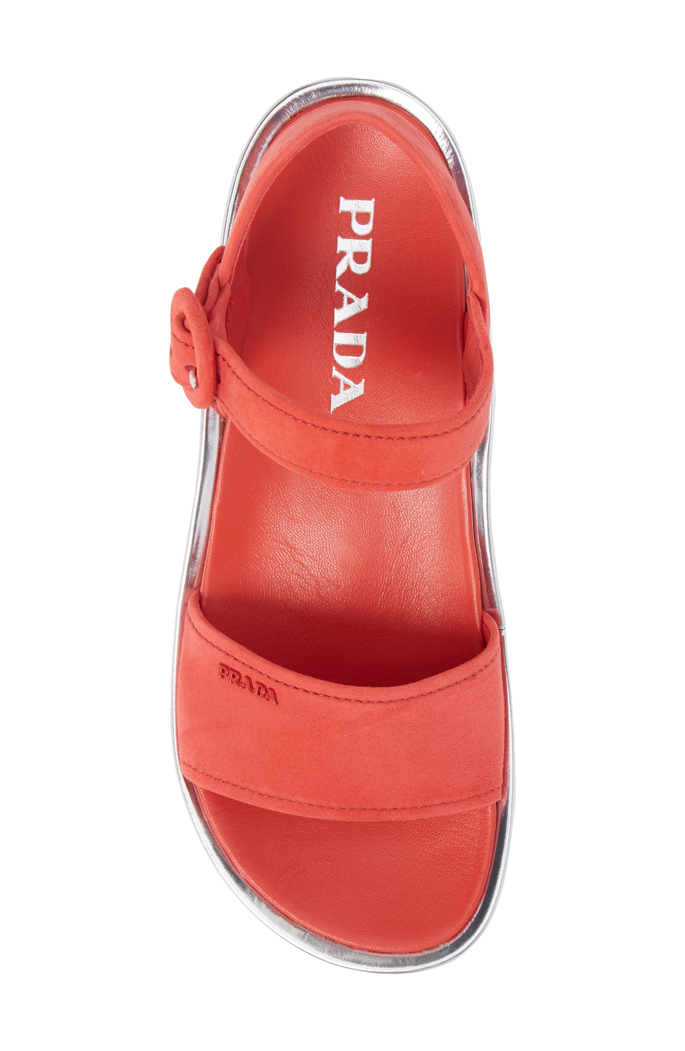 Alternate Image 5  - Prada Platform Sandal (Women)