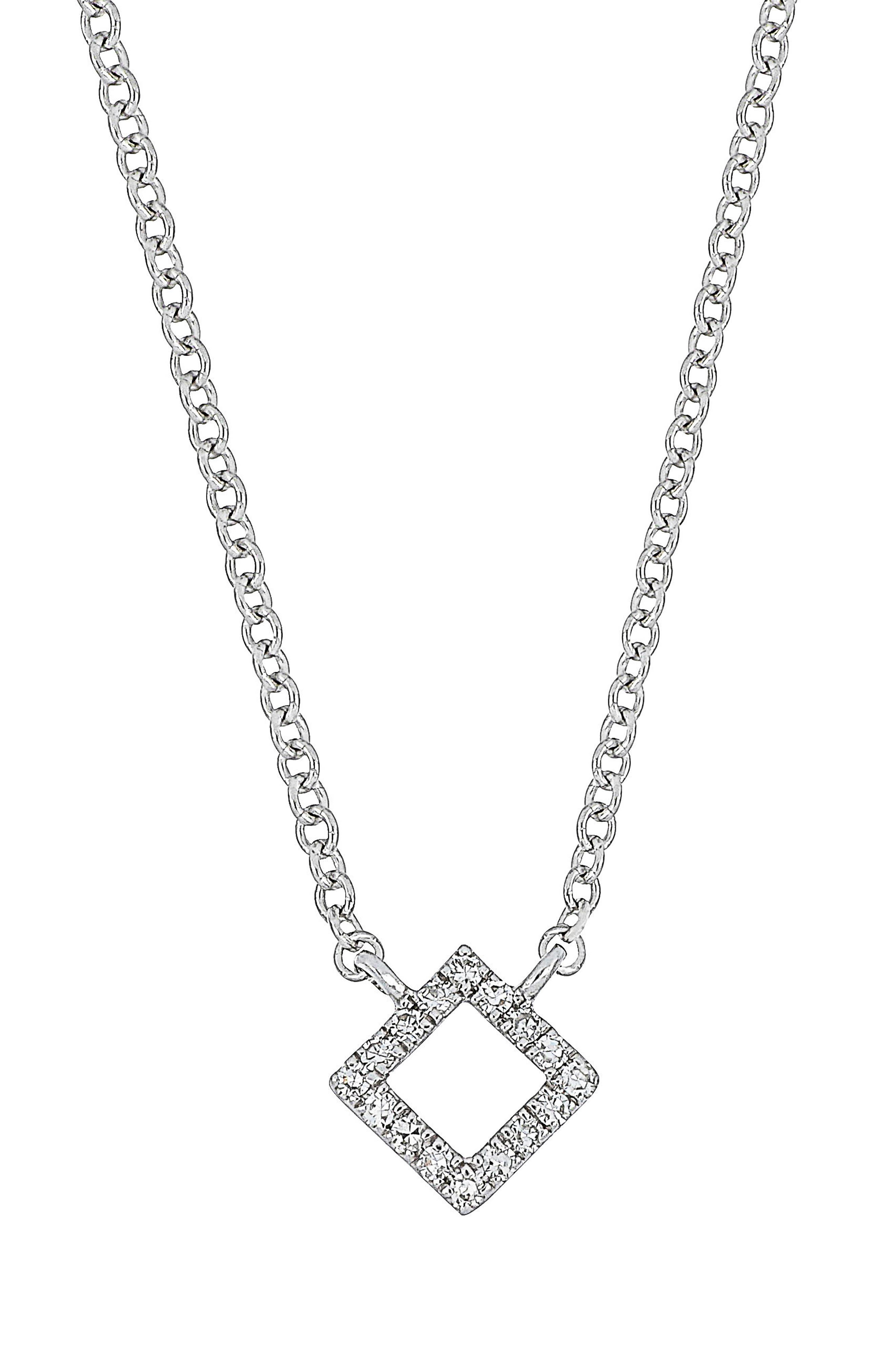 Carrière Diamond Pendant Necklace (Nordstrom Exclusive)