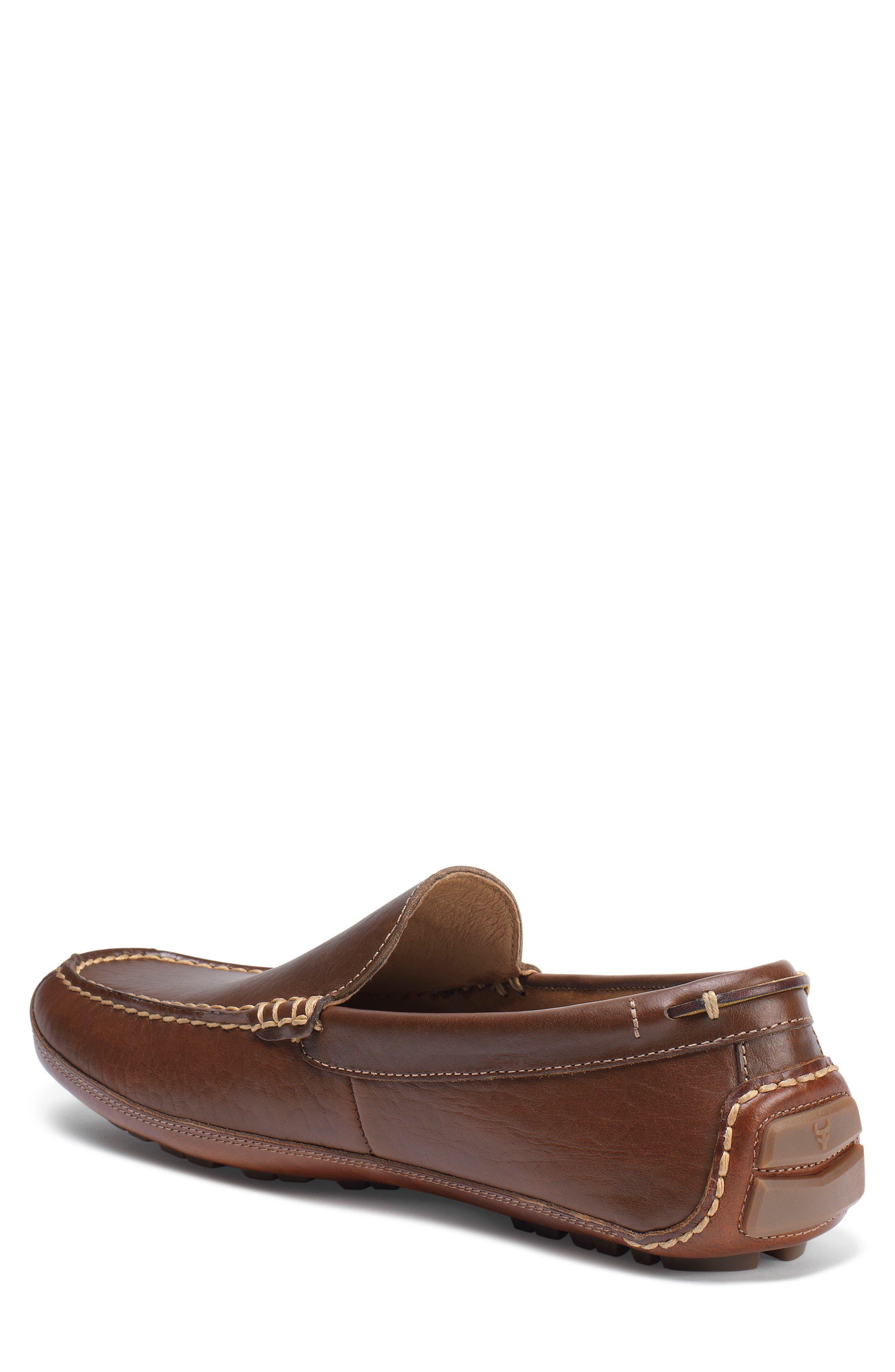 Dean Driving Shoe,                             Alternate thumbnail 2, color,                             Saddle Tan Leather