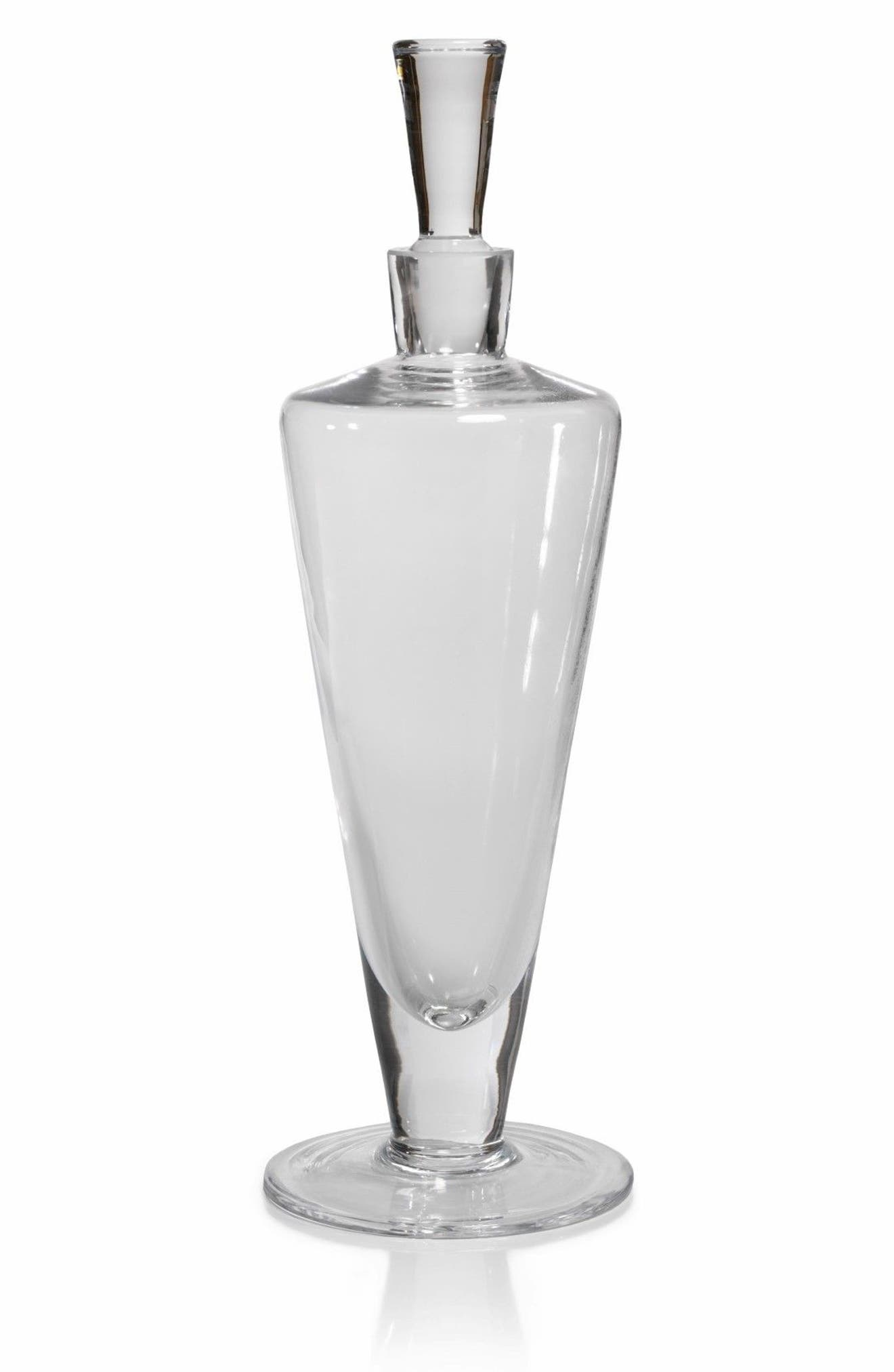 Siena Decanter,                             Main thumbnail 1, color,                             Clear