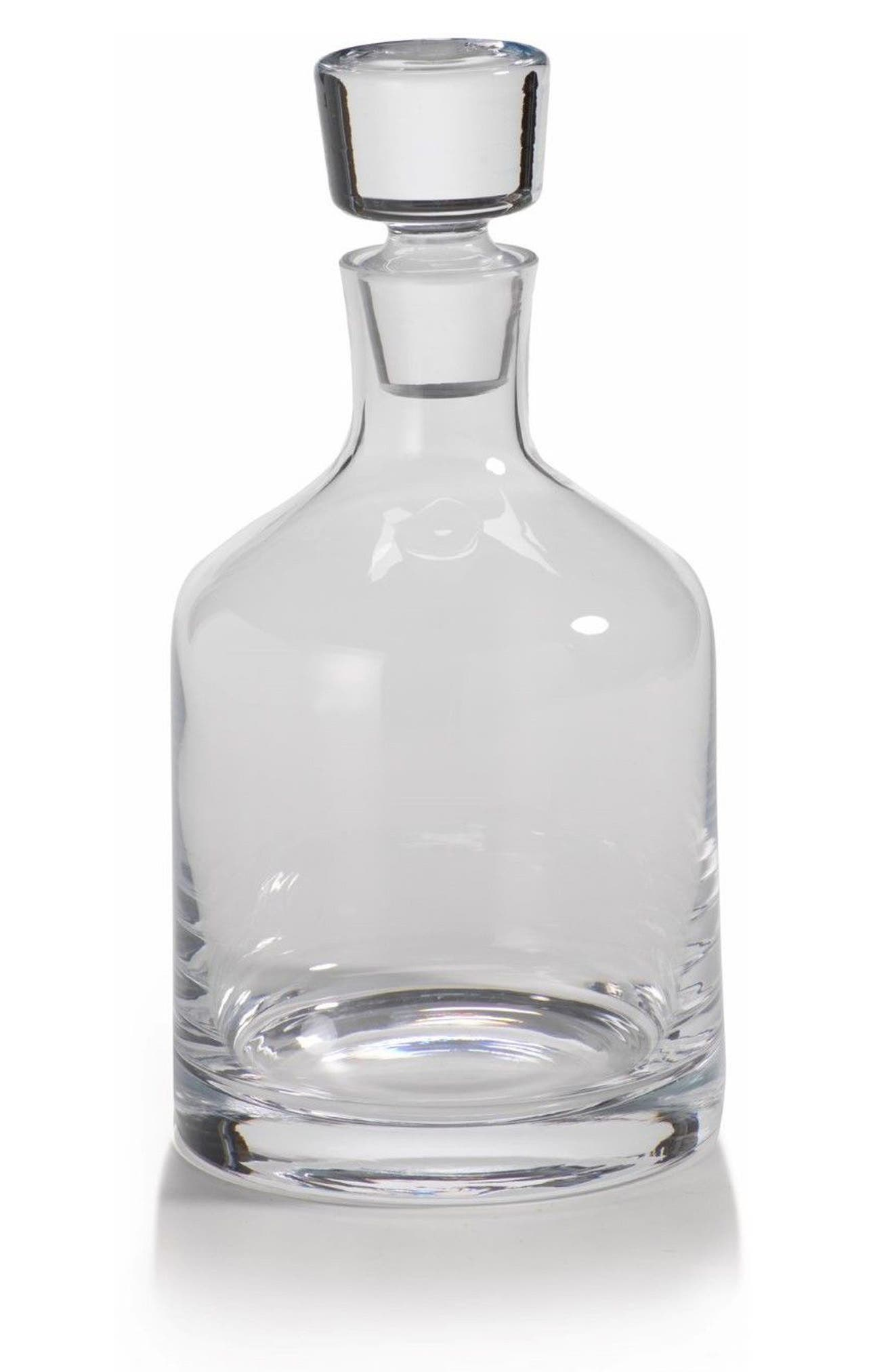 Montecito Decanter,                             Main thumbnail 1, color,                             Clear